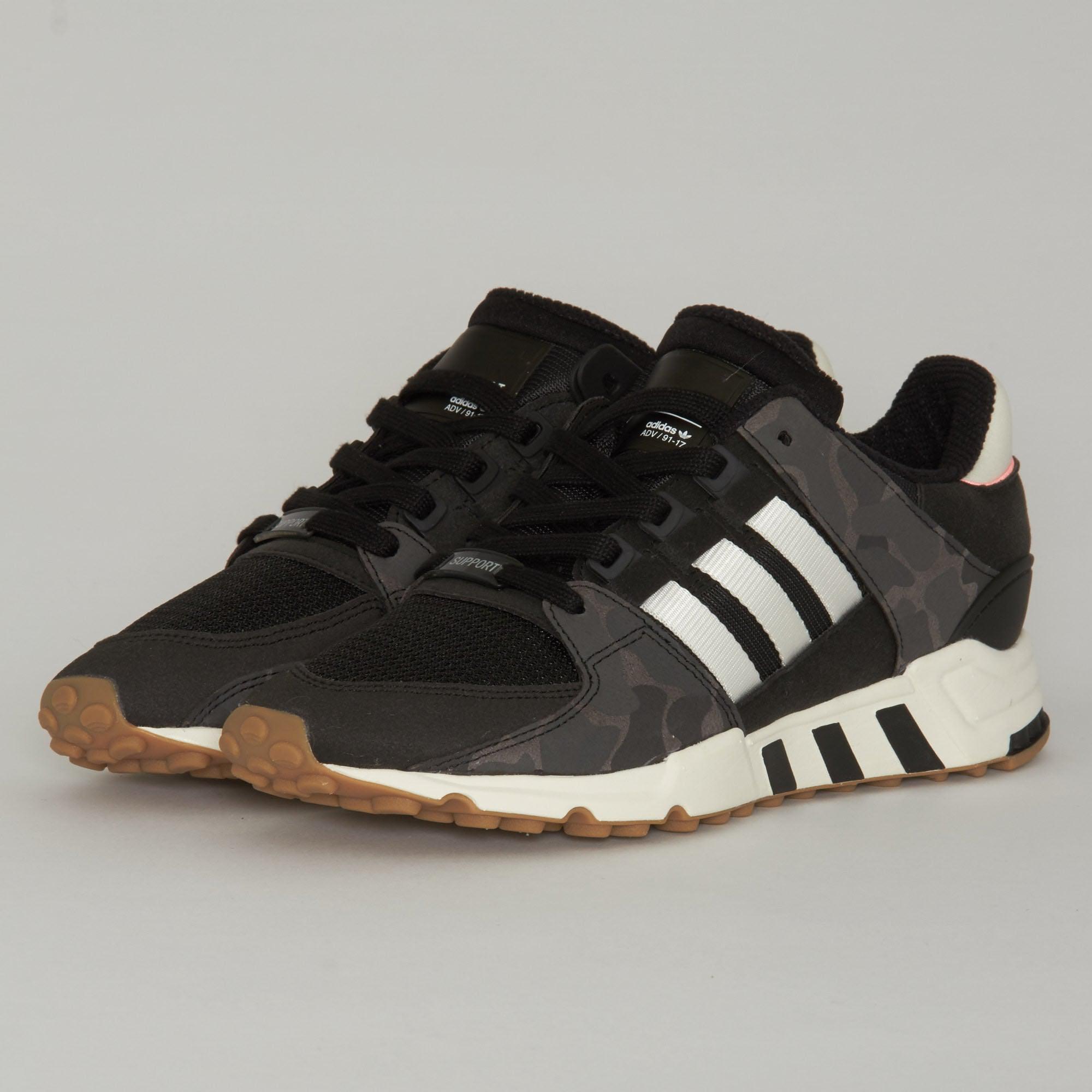 Lyst adidas Originals Adidas EQT Support RF zapatos negros en negro