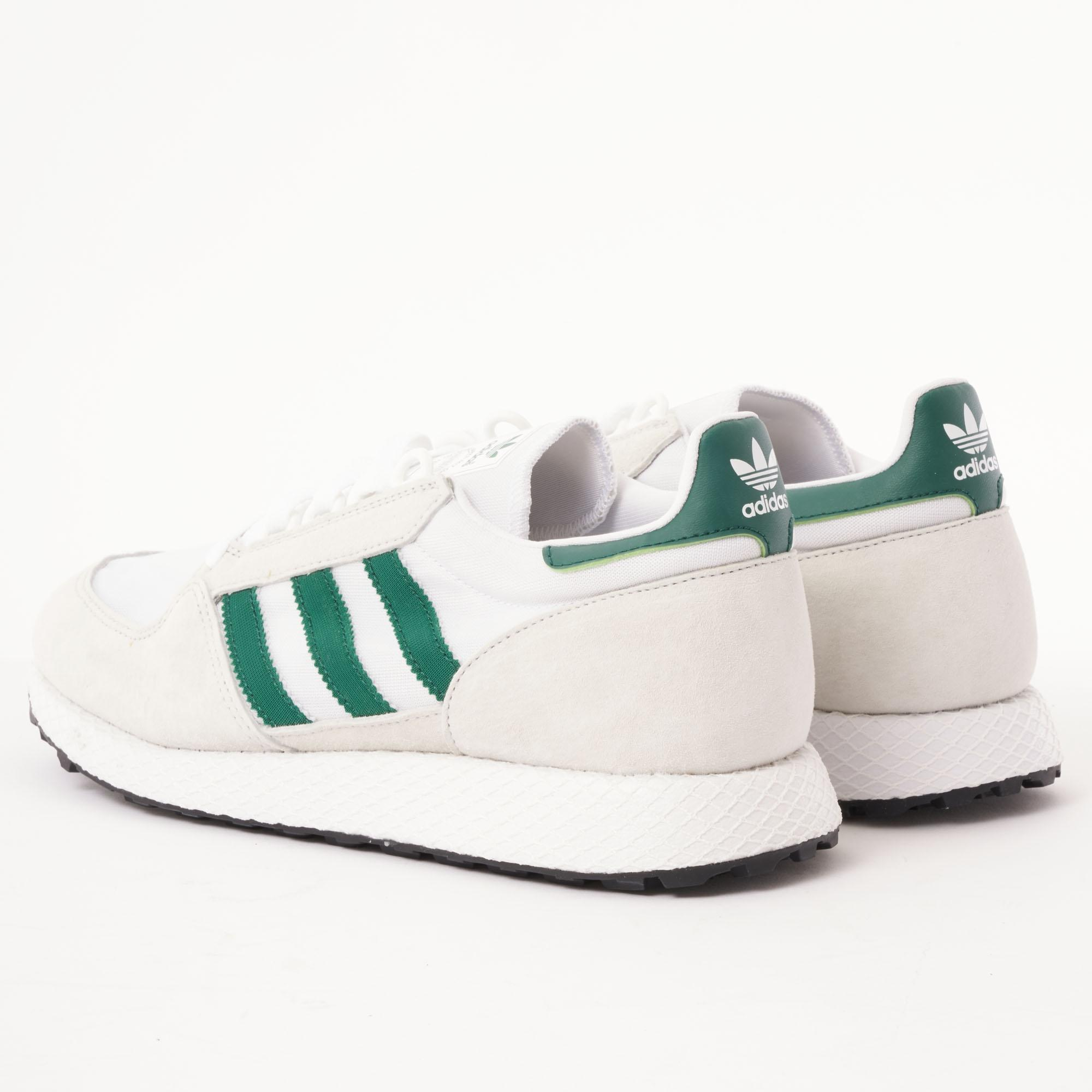 official photos d8b7f 7d434 Adidas Originals - Forest Grove - Crystal White, Collegiate Green  Core  Black for Men. View fullscreen