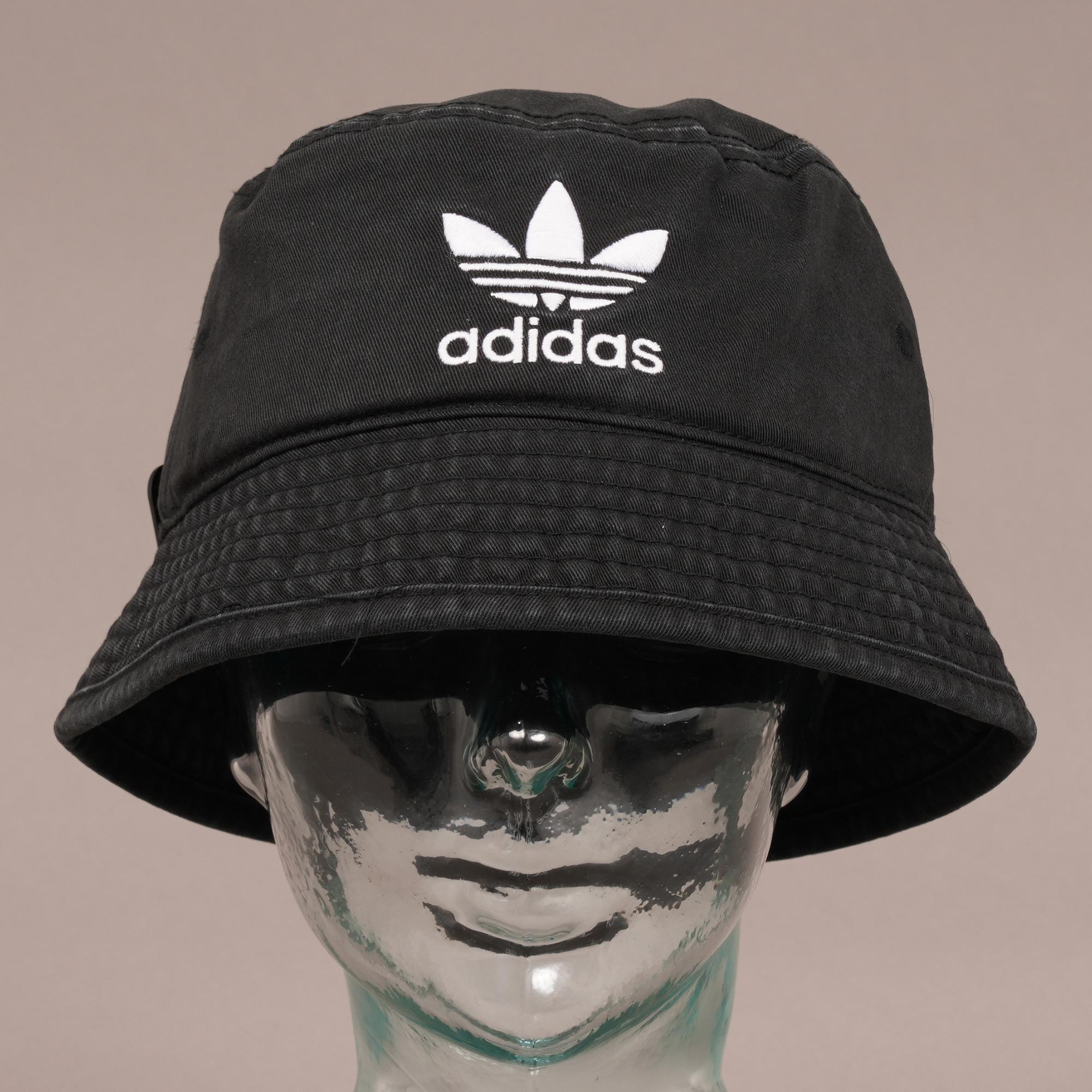 9592d527df9 ... italy adidas originals trefoil bucket hat black for men lyst. view  fullscreen 5fe00 8de80 ...