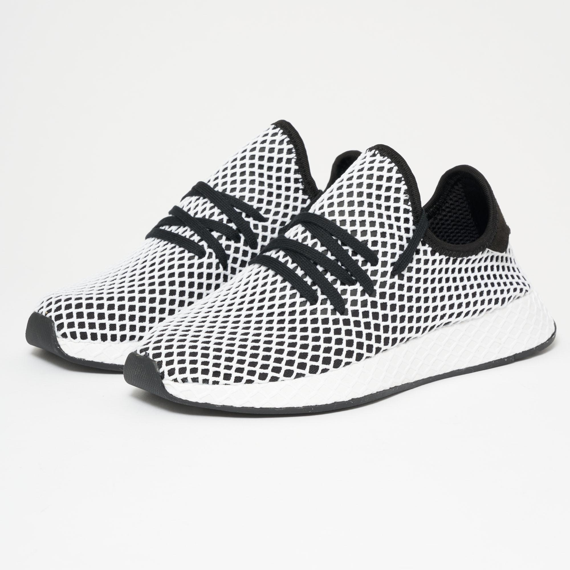 adidas Originals DEERUPT RUNNER - Trainers - footwear white/core black LsCYy3WxOT