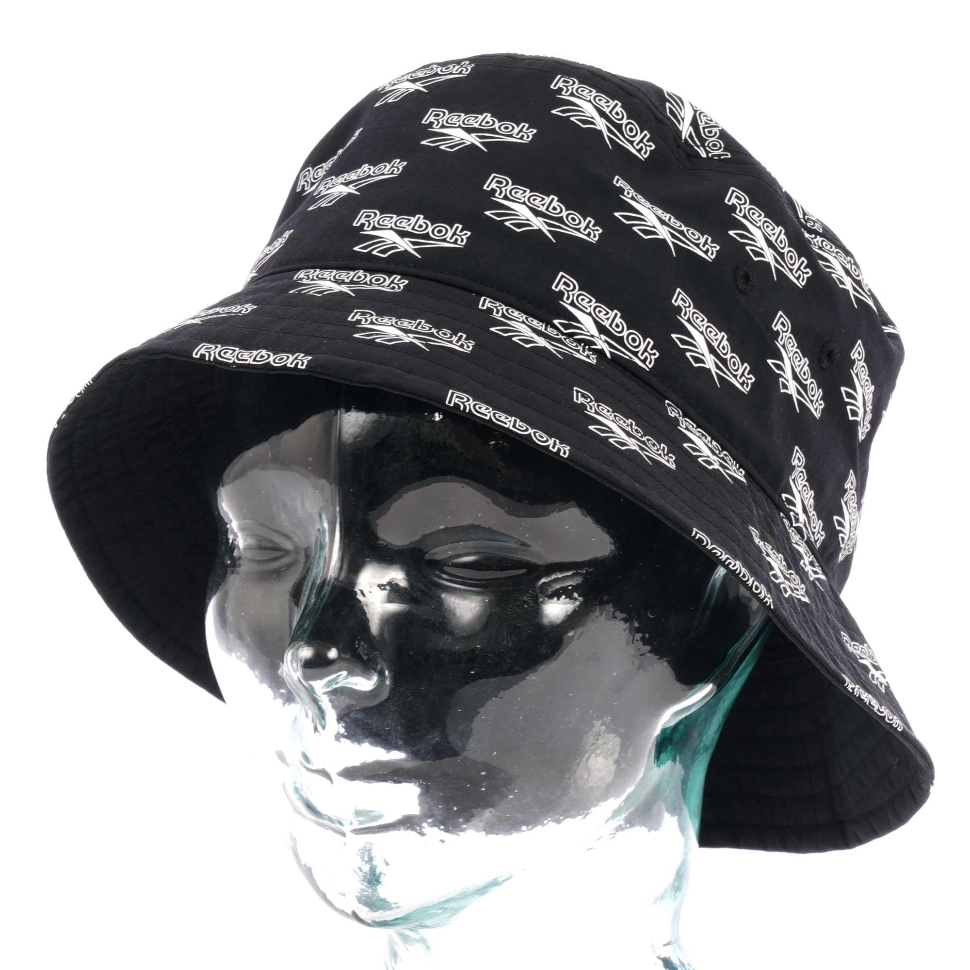 a35328c0ba5 Reebok - Classic Vector Bucket Hat - Black for Men - Lyst. View fullscreen