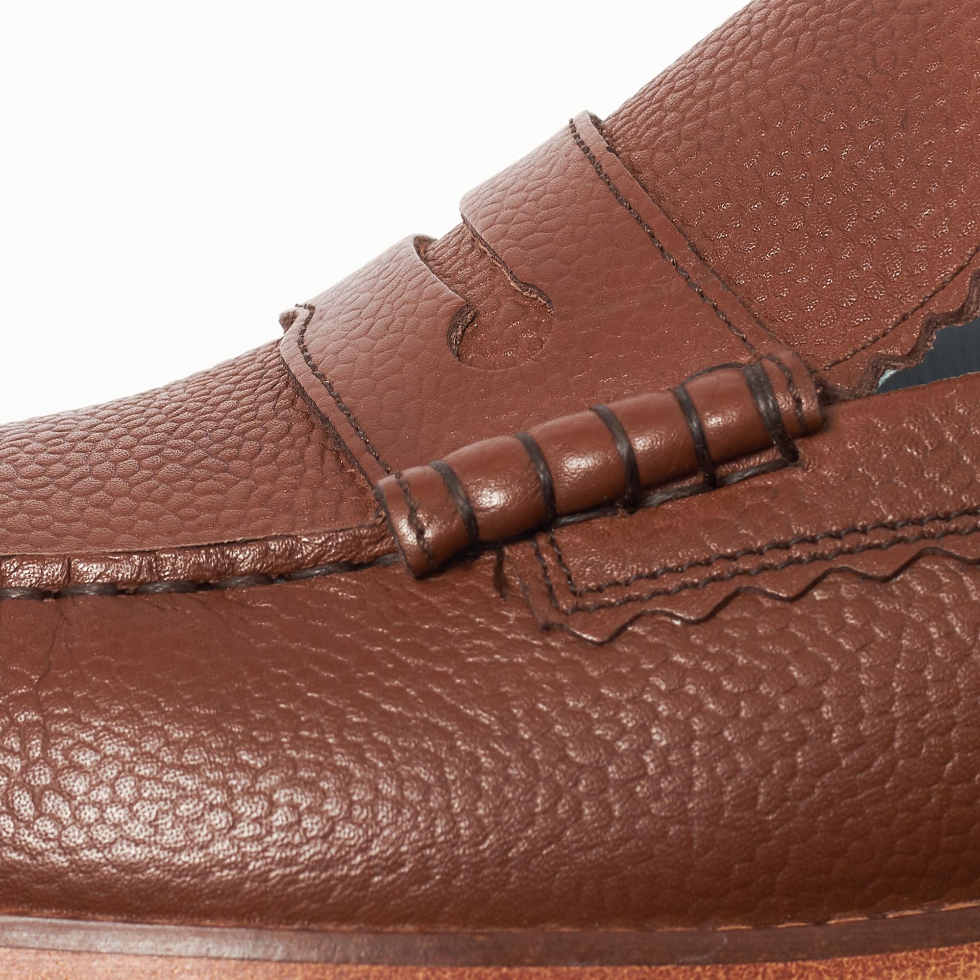 d7af09450a9 GRENSON - Ashley Dark Brown Loafer Shoe for Men - Lyst. View fullscreen