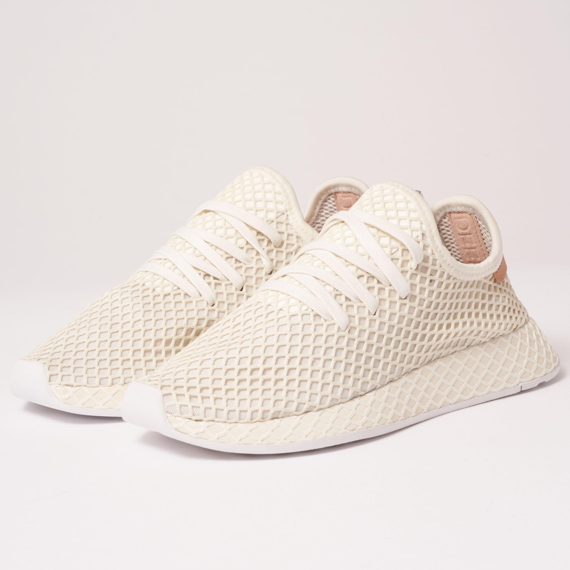 size 40 e3911 728e2 adidas Originals Deerupt Runner - Cloud White, Ash Pearl   Ftwr ...