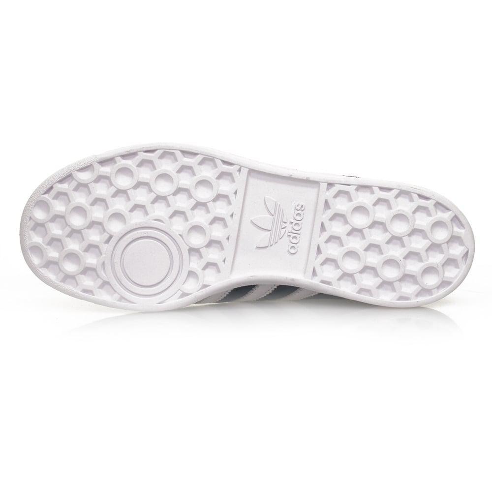 Lyst - adidas Originals Adidas Hamburg Collegiate Navy Suede Shoes ... be2535d30