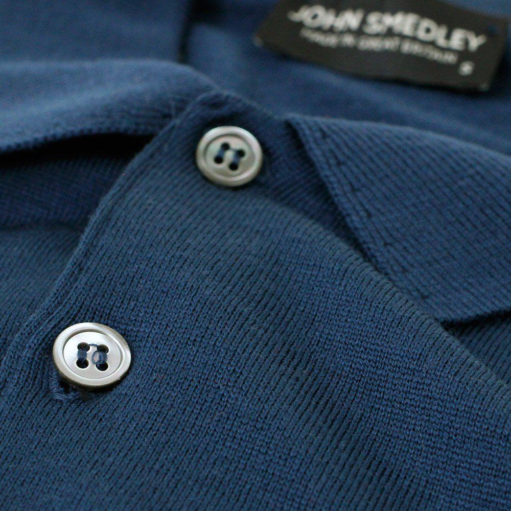 c29350c248dc John Smedley - Blue Tyburn Deep Teal Ls Polo Shirt for Men - Lyst. View  fullscreen