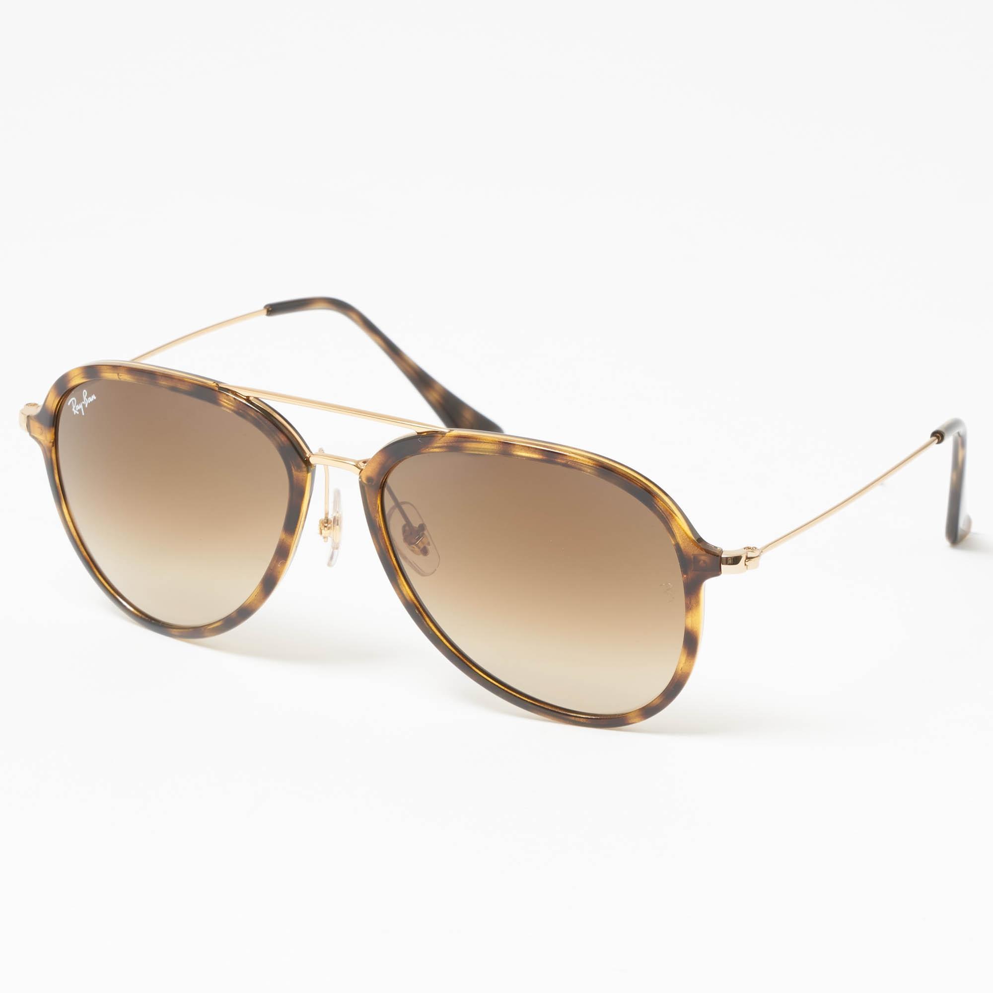 05e44339e59 Lyst - Ray-Ban Tortoise Rb4298 Sunglasses - Light Brown Gradient ...