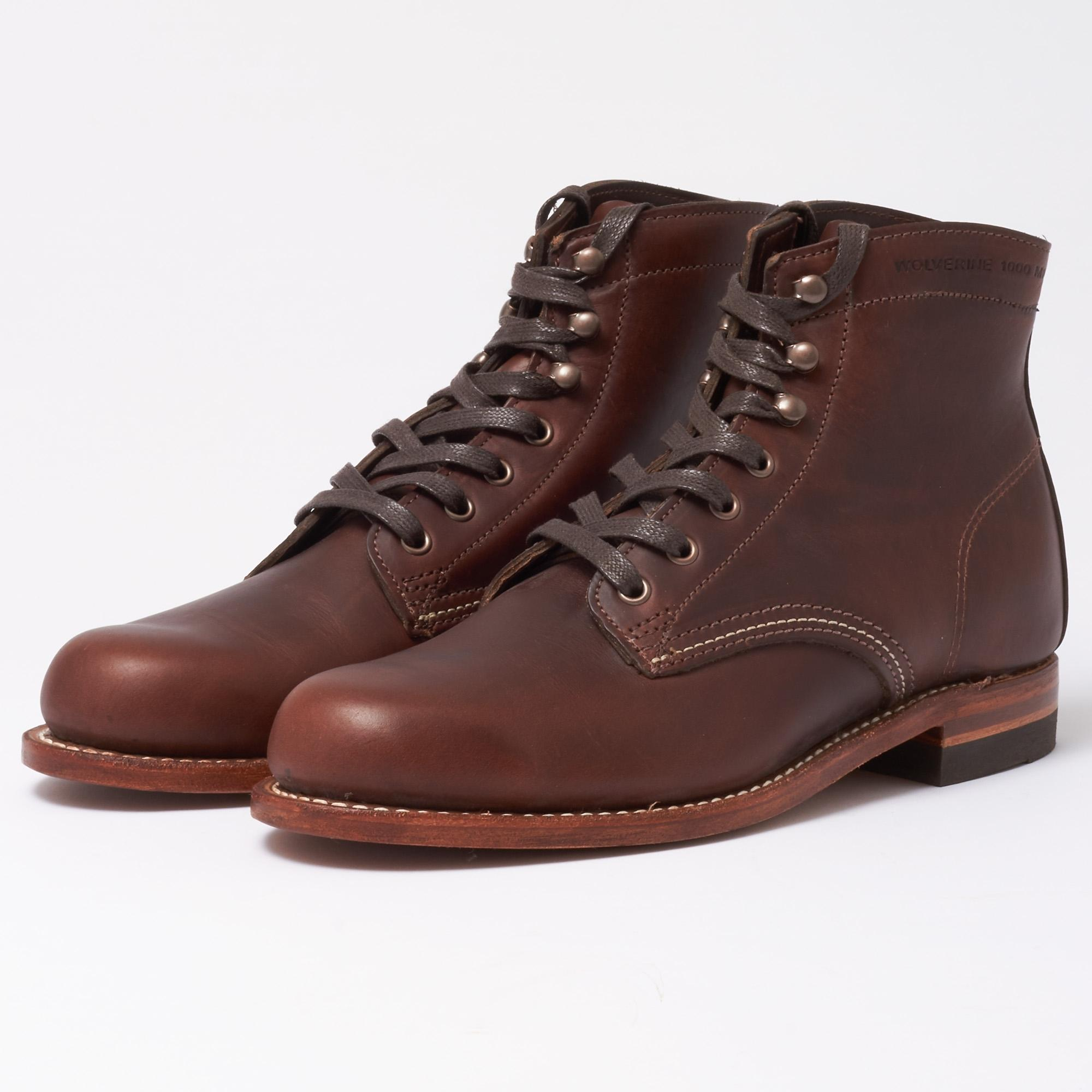 1f34c34801a Wolverine Original 1000 Mile Brown Boots in Brown for Men - Lyst