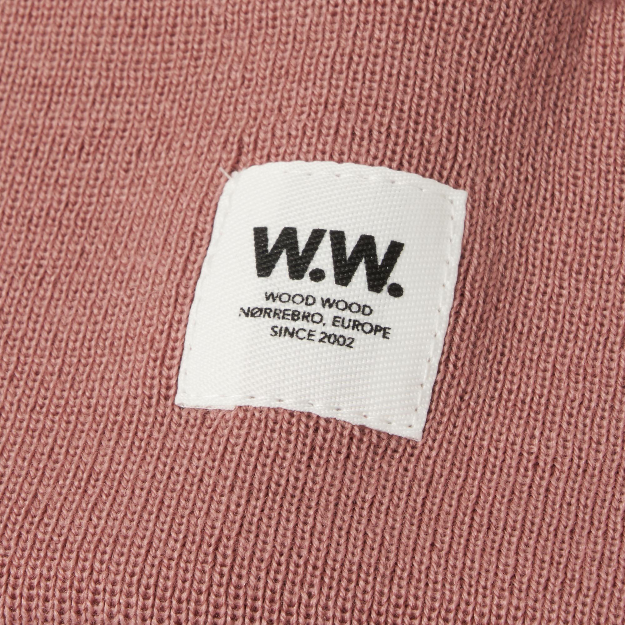 1561392b9ef Lyst - WOOD WOOD Gerald Tall Beanie - Dark Rose in Pink for Men