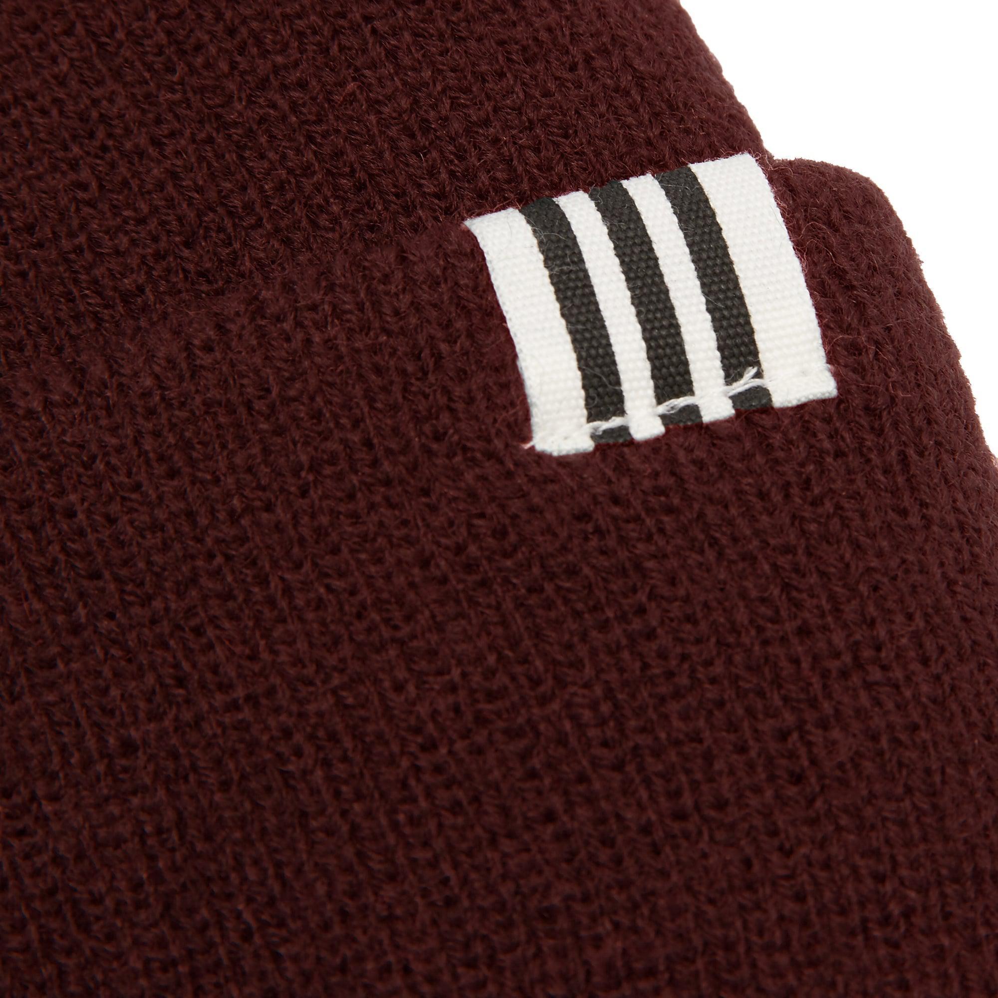 adidas Originals Collegiate Burgundy High Beanie for Men - Lyst c59c2a17cb2
