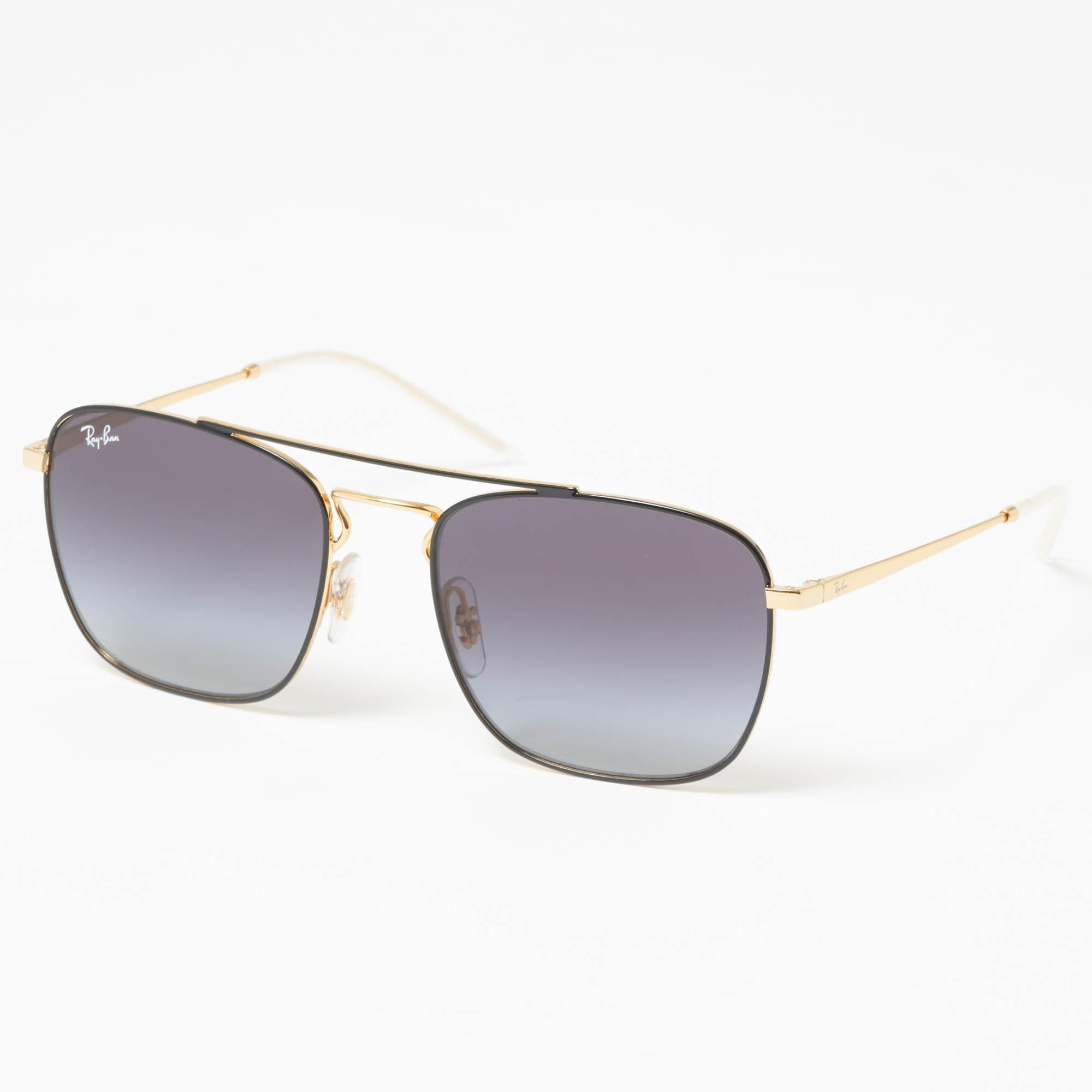 417fefce471 Lyst - Ray-Ban Gold Rb3588 Sunglasses - Grey Gradient Lenses in ...