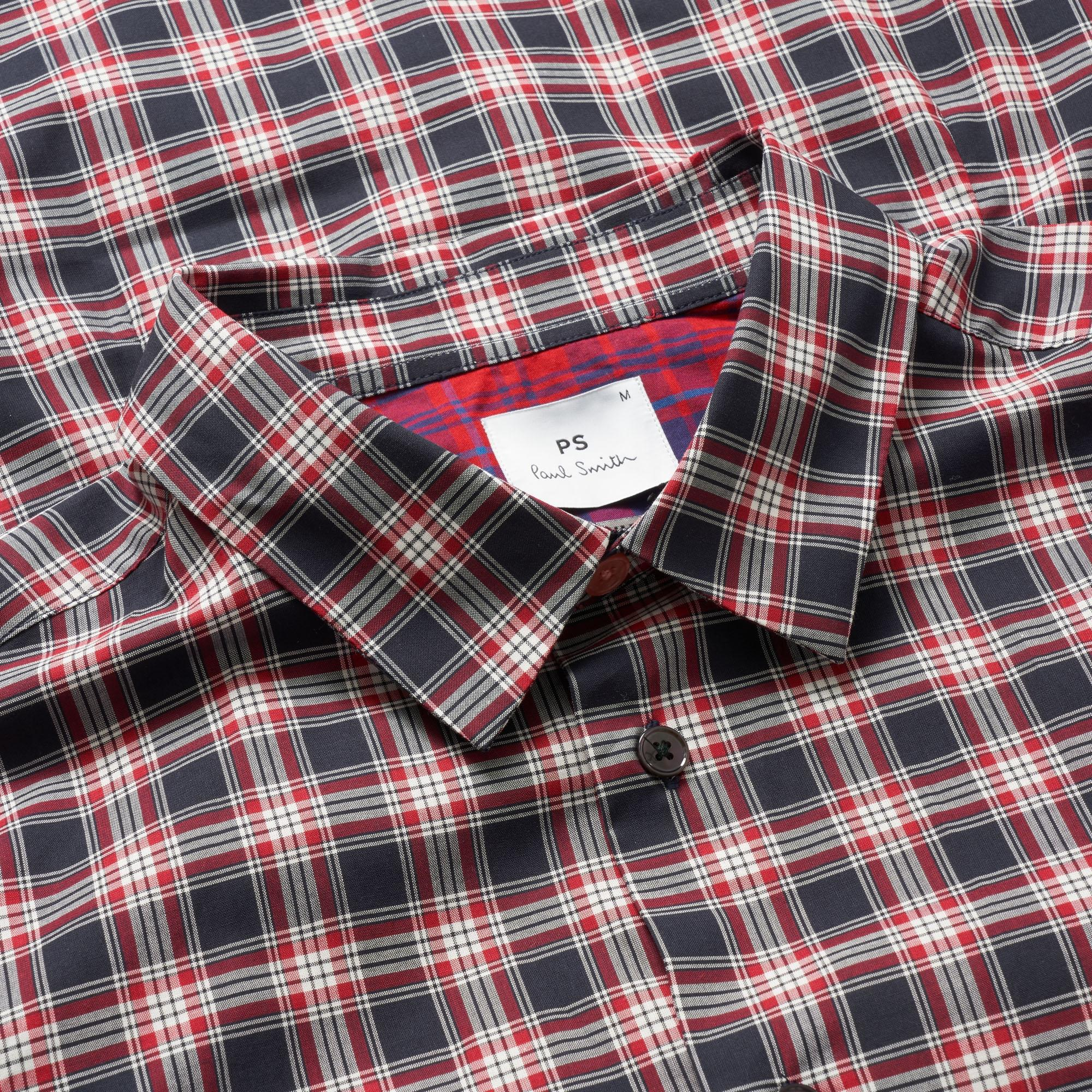 004240abda9f1b PS by Paul Smith - Red Check Shirt for Men - Lyst. View fullscreen