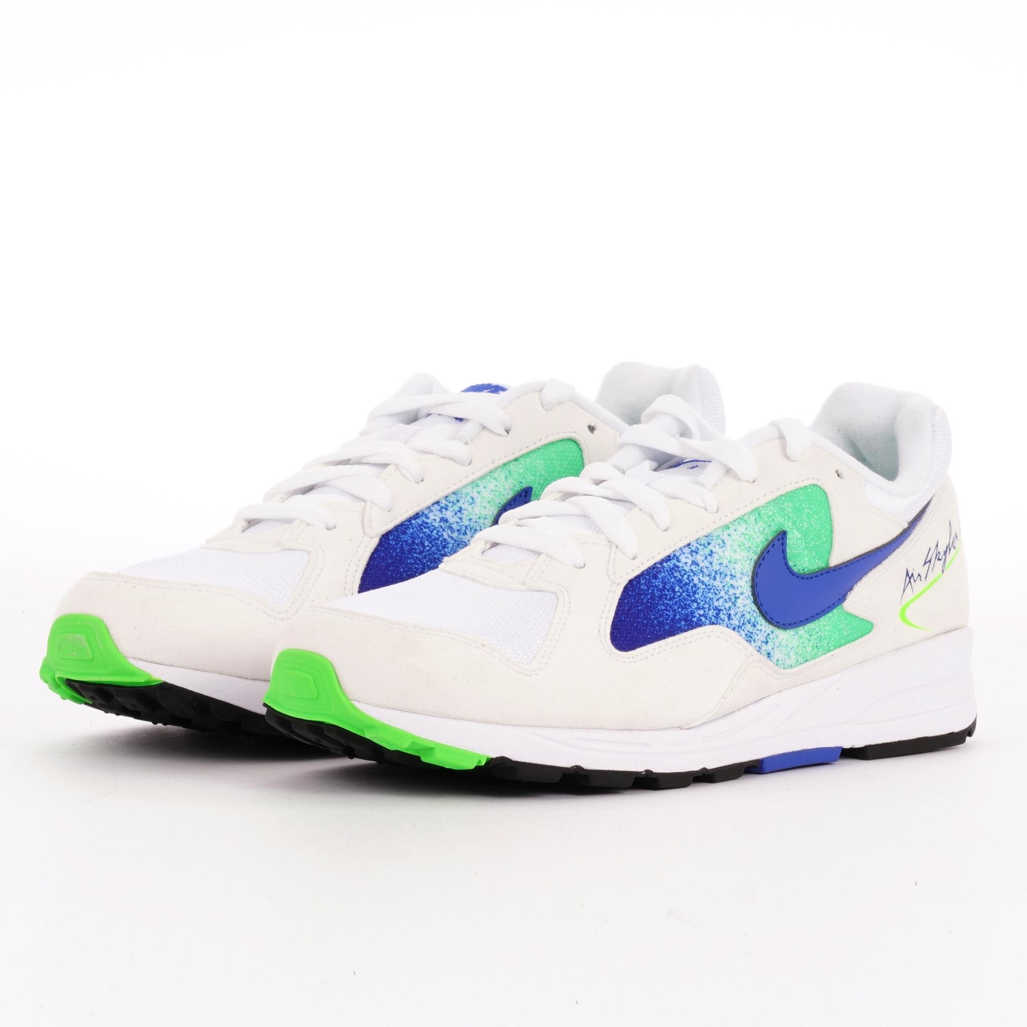 big sale 80fe6 dfd4f Nike - Air Skylon Ii - White, Hyper Royal   Green Strike for Men -. View  fullscreen