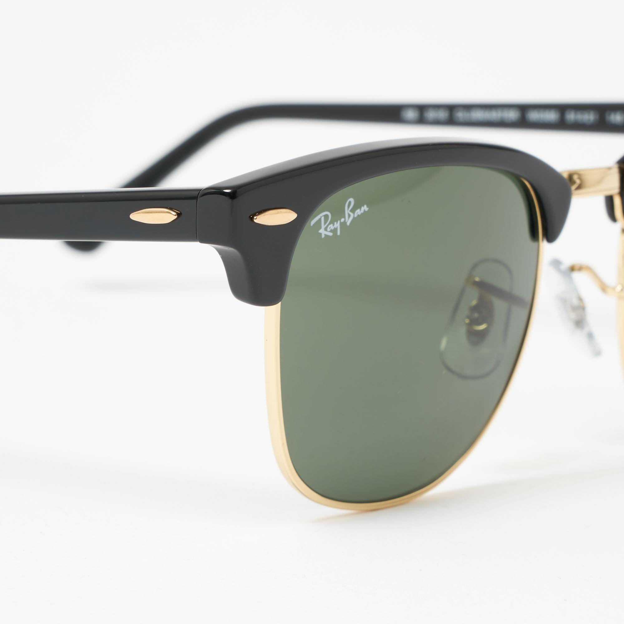 a2d5afc3df ... Black Clubround Classic Sunglasses - Green Classic G-15 Lenses for.  View fullscreen