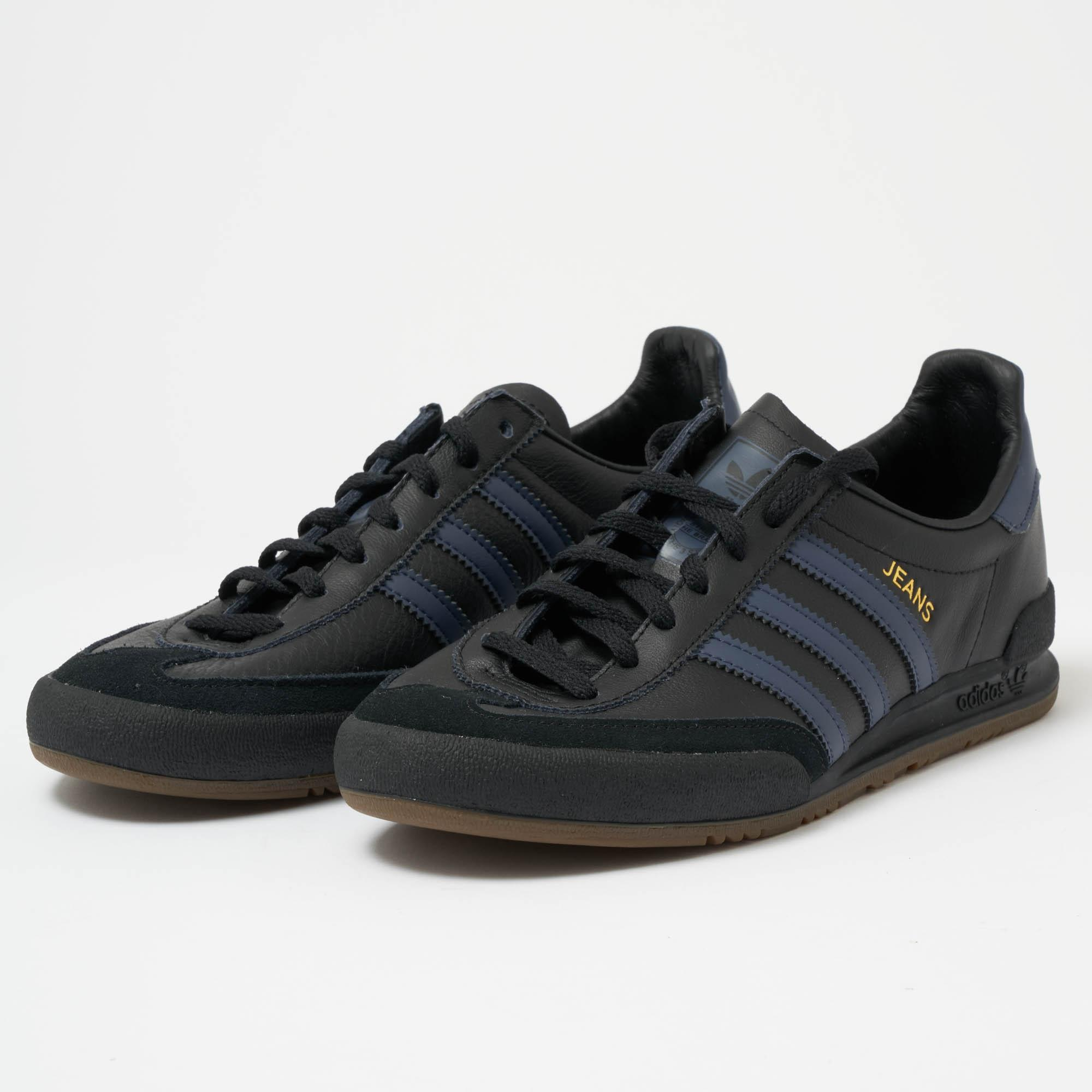 adidas Originals Denim Jeans Core Black, Trace Blue & Gum