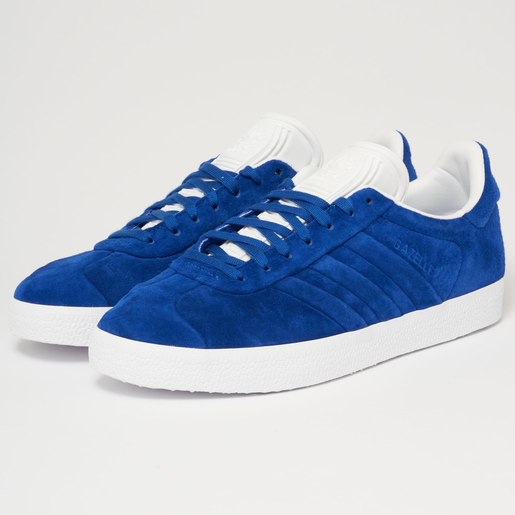 adidas Adidas Gazelle Stitch And Turn Collegiate Royal/ Collegiate Royal/ Ftw White MtZyoV38eQ