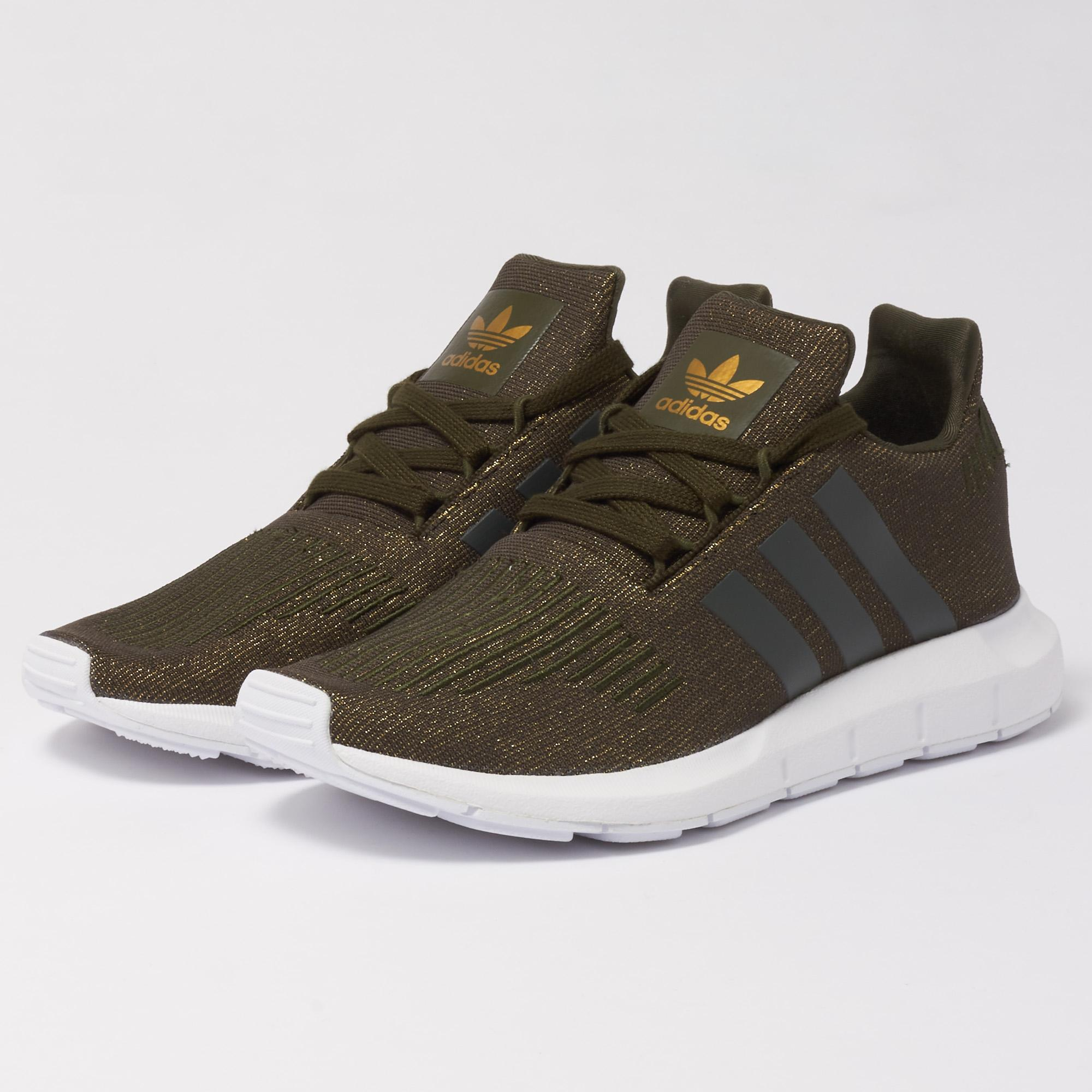 Adidas Originals Wmns Swift Run Verde Trainers Night Cargo in Verde Run for dd1d46