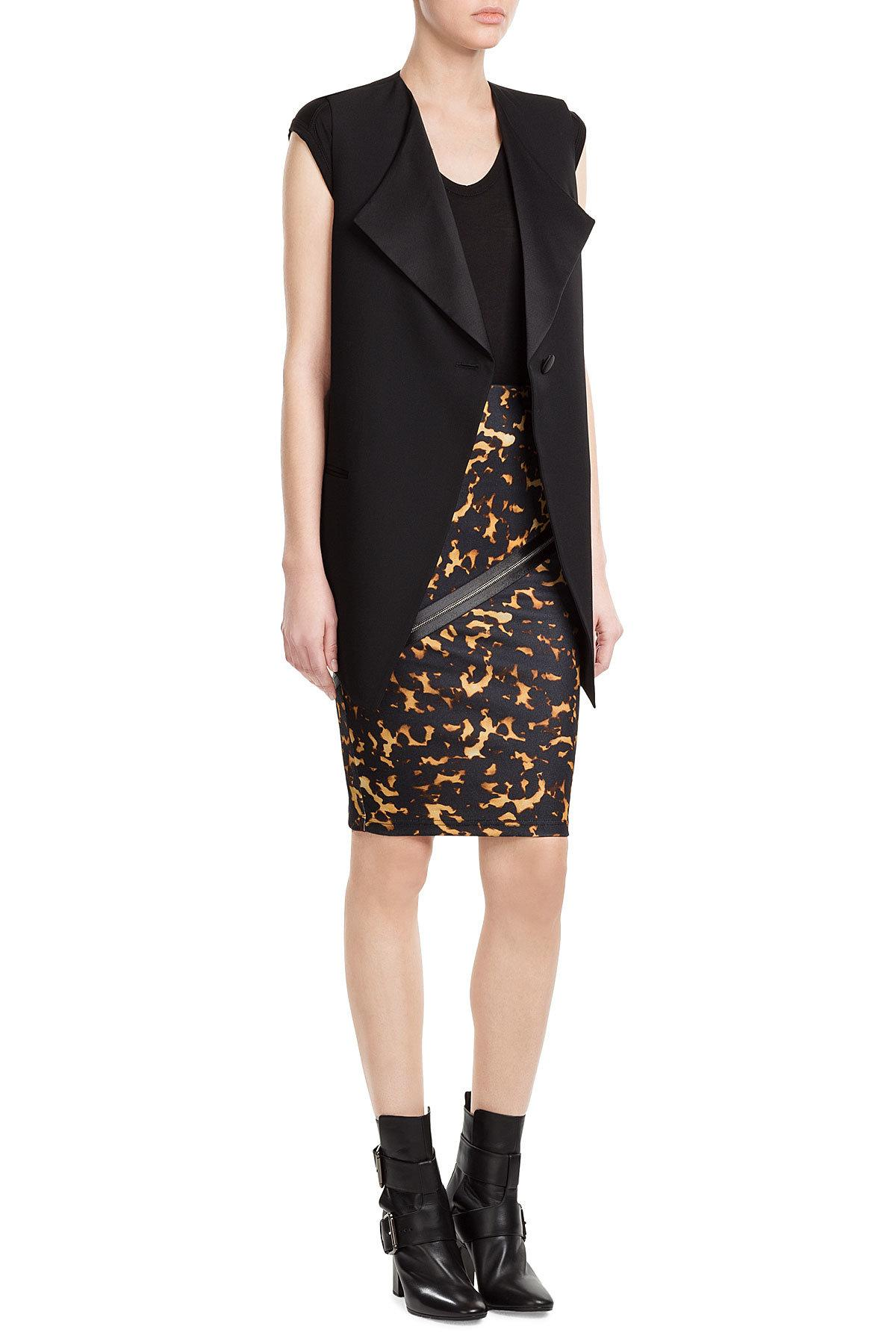 More Details Eileen Fisher Washable Silk/Cotton Midi Pencil Skirt, Petite Details Eileen Fisher interlock knit, calf-length skirt, available in your choice of color. Approx. 31