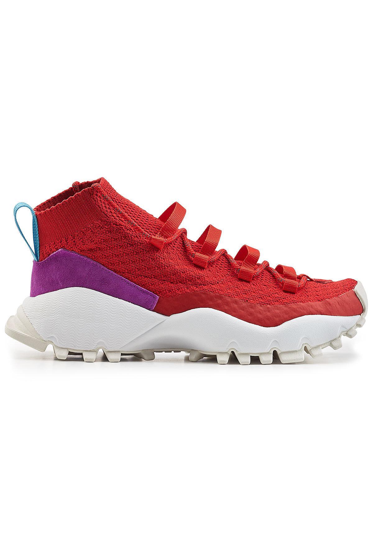 cf975ea1a59a Adidas Originals - Red Seeulater Primeknit Winter Sneakers for Men - Lyst.  View fullscreen