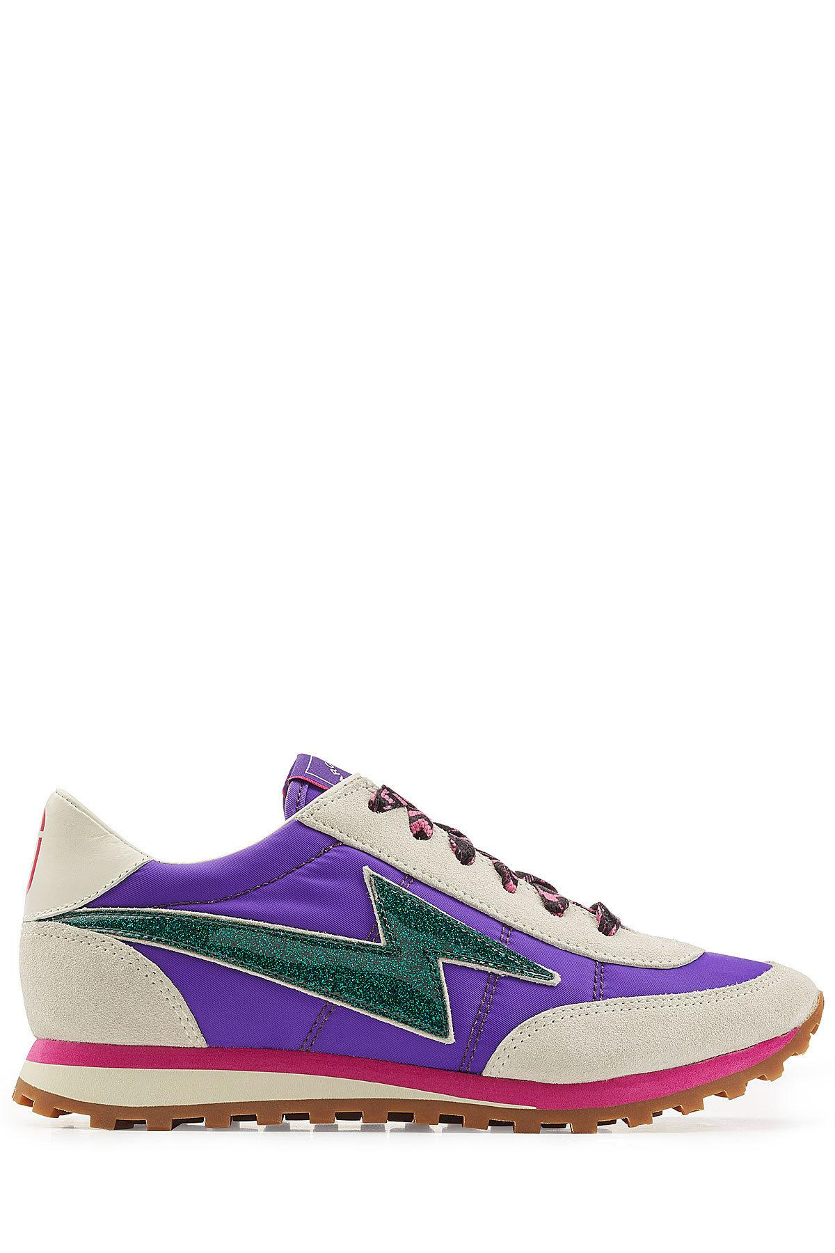 Sale Online Shop Marc Jacobs Nylon and Suede Sneakers Clearance Deals RqEcqDg