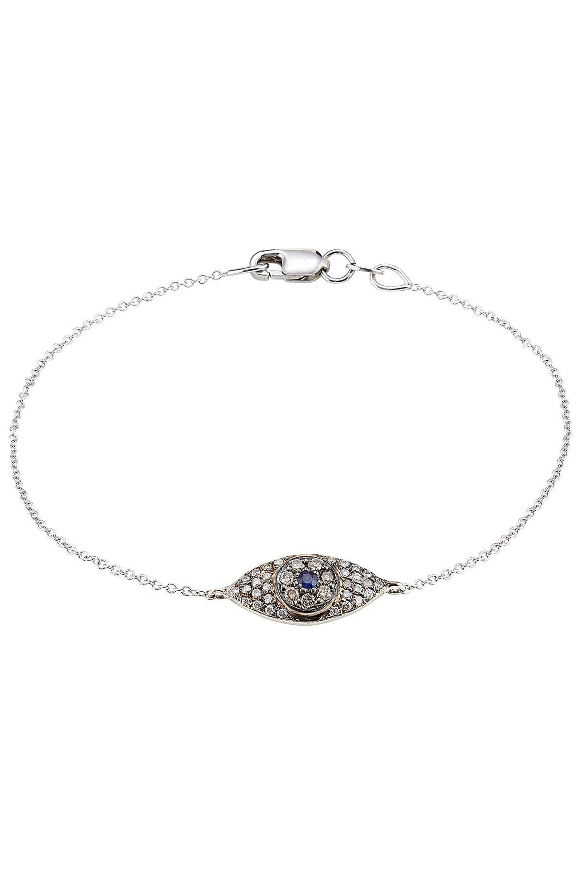 Ileana Makri Diamond, sapphire & yellow-gold bracelet