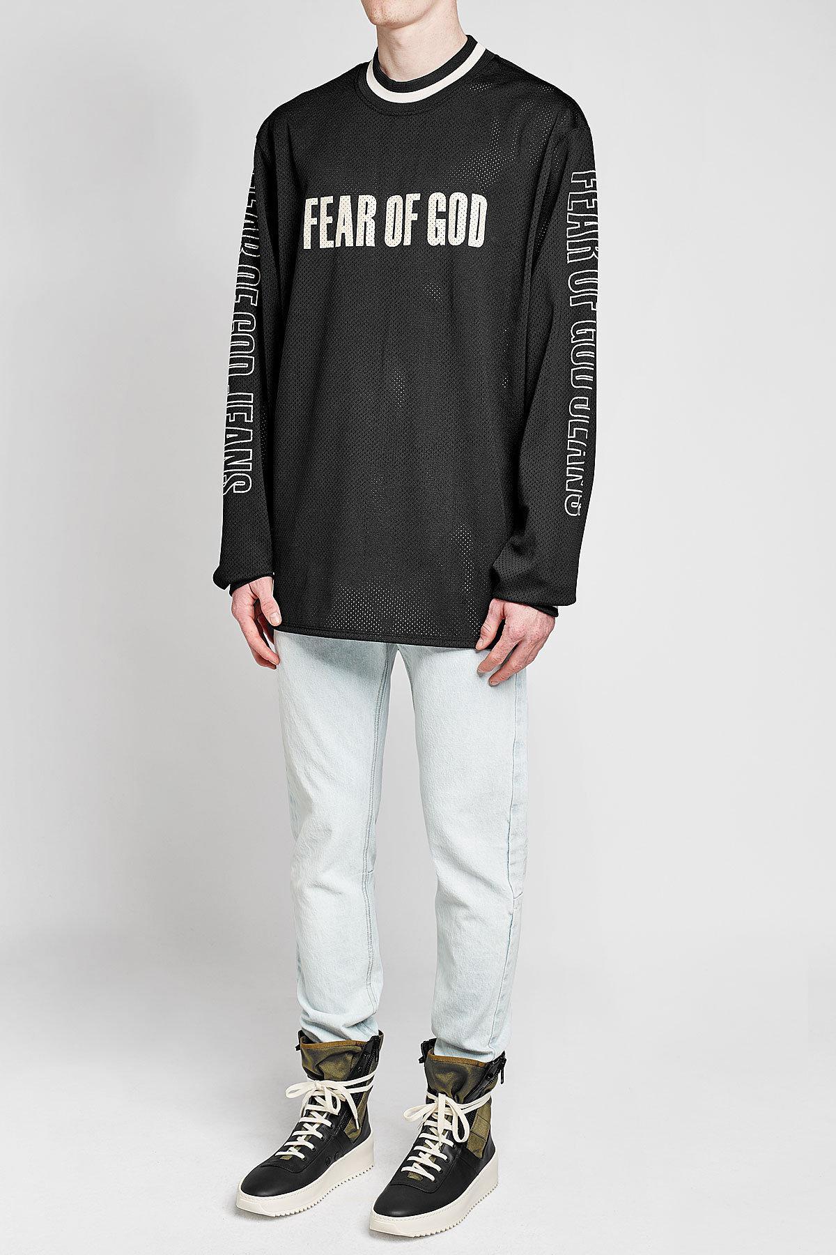 FEAR OF GOD Grey Jungle High-Top Sneakers JVAAJ