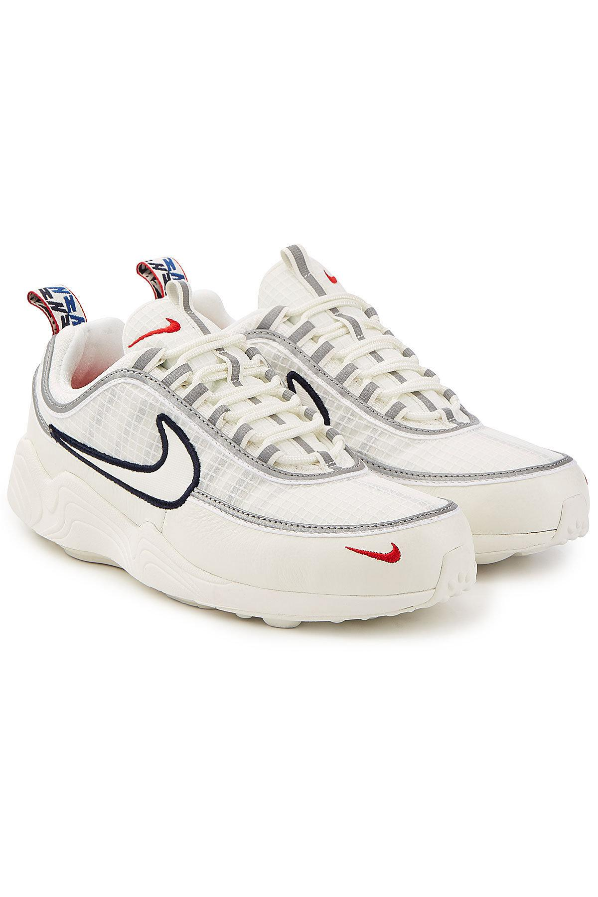 9f2cbaf4710c0 Lyst - Nike Air Zoom Spiridon Sneakers With Leather in White for Men