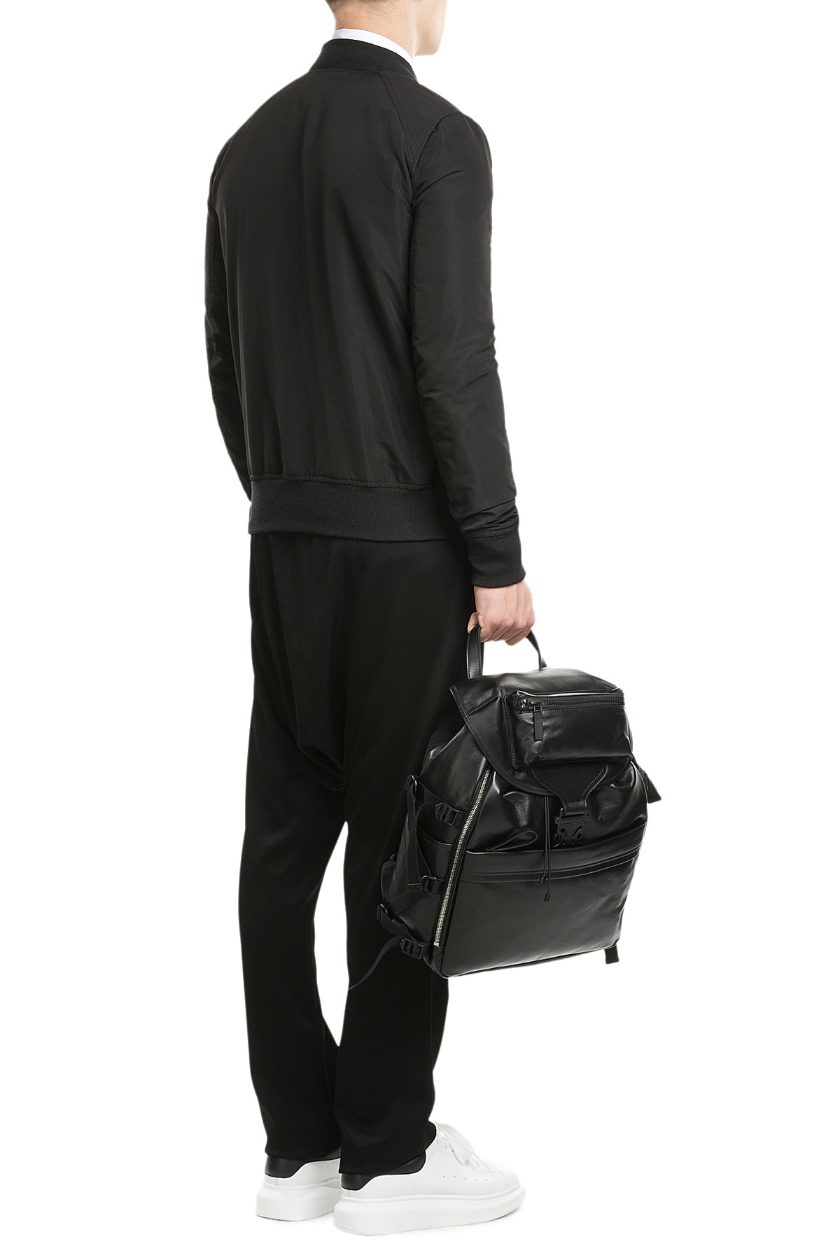 rick owens harem pants black in black for men lyst