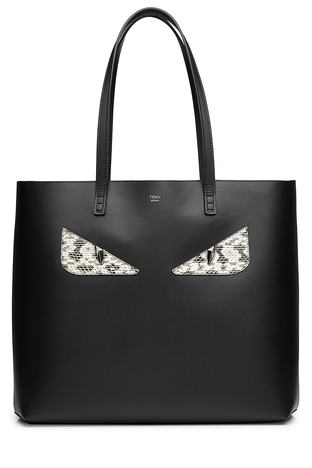 Fendi Black Monster Tote  b5f0ce8e86f24