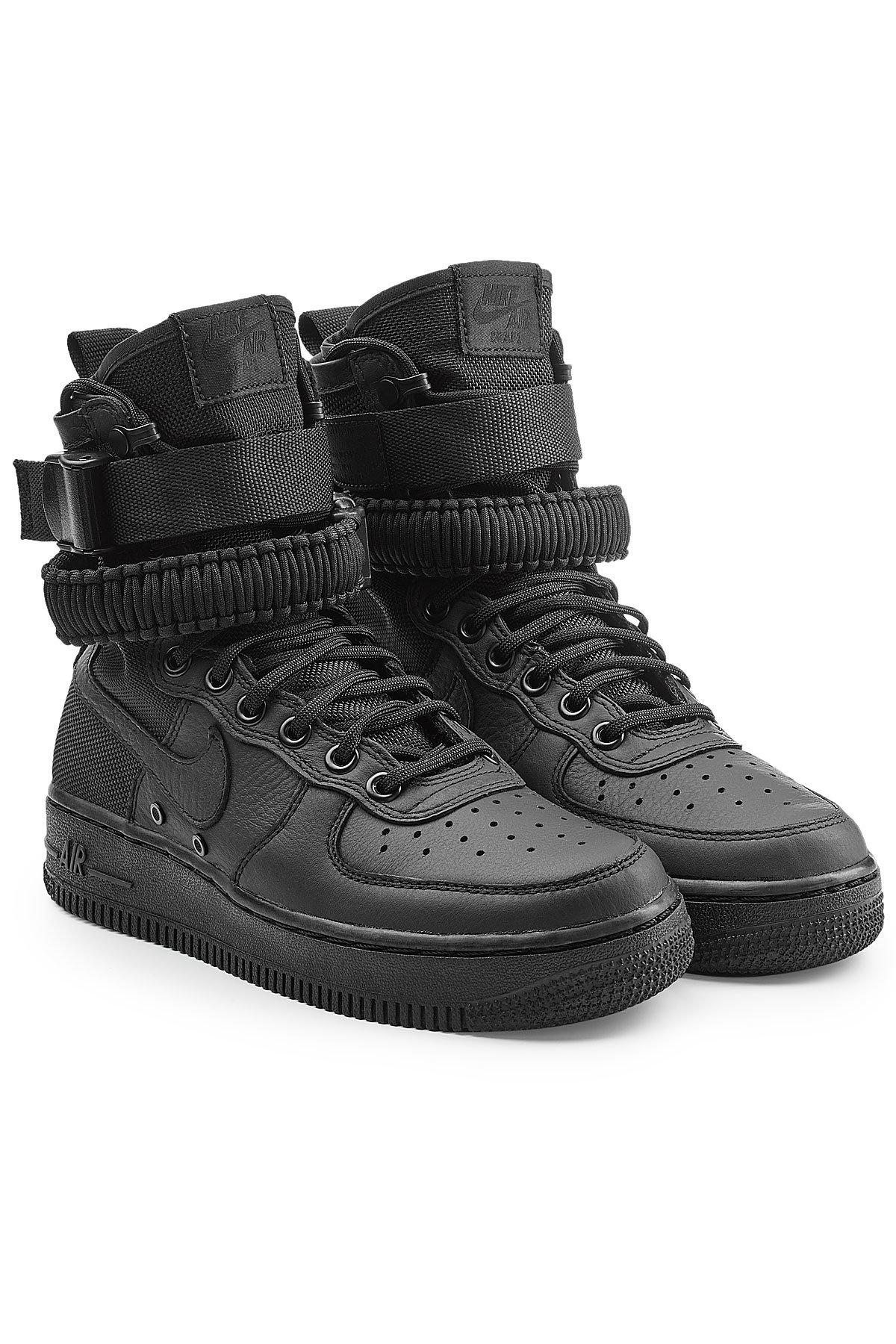 Nike SF Air Force 1 Mid Top Sneakers with Leather and Mesh Gr. US 8.5 m2CL0fQfCT