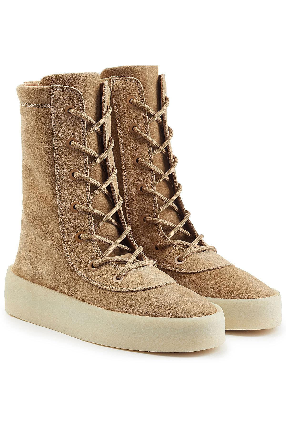 4f9246024ef Lyst - Yeezy Suede Boots for Men