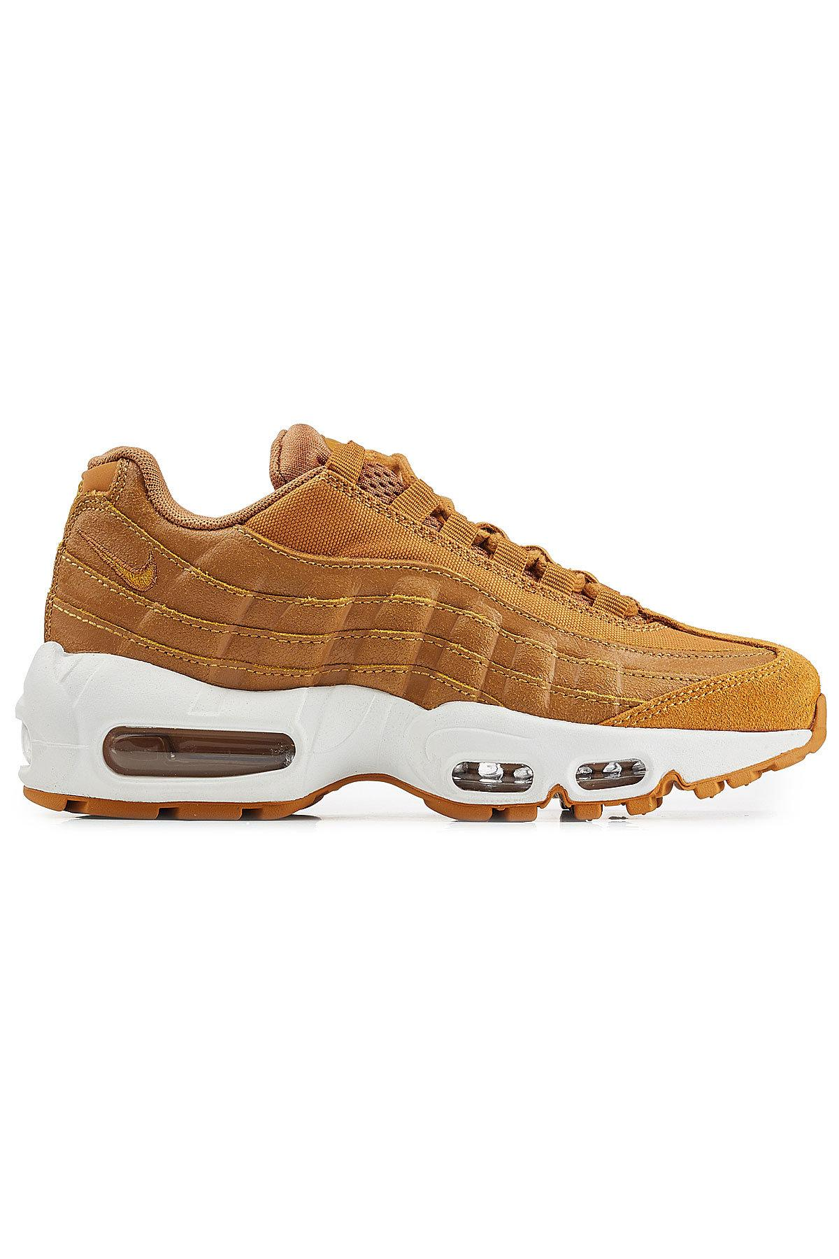 online store a5b73 ce150 ... canada nike multicolor air max 95 premium leather sneakers lyst. view  fullscreen 083ed af894 ...