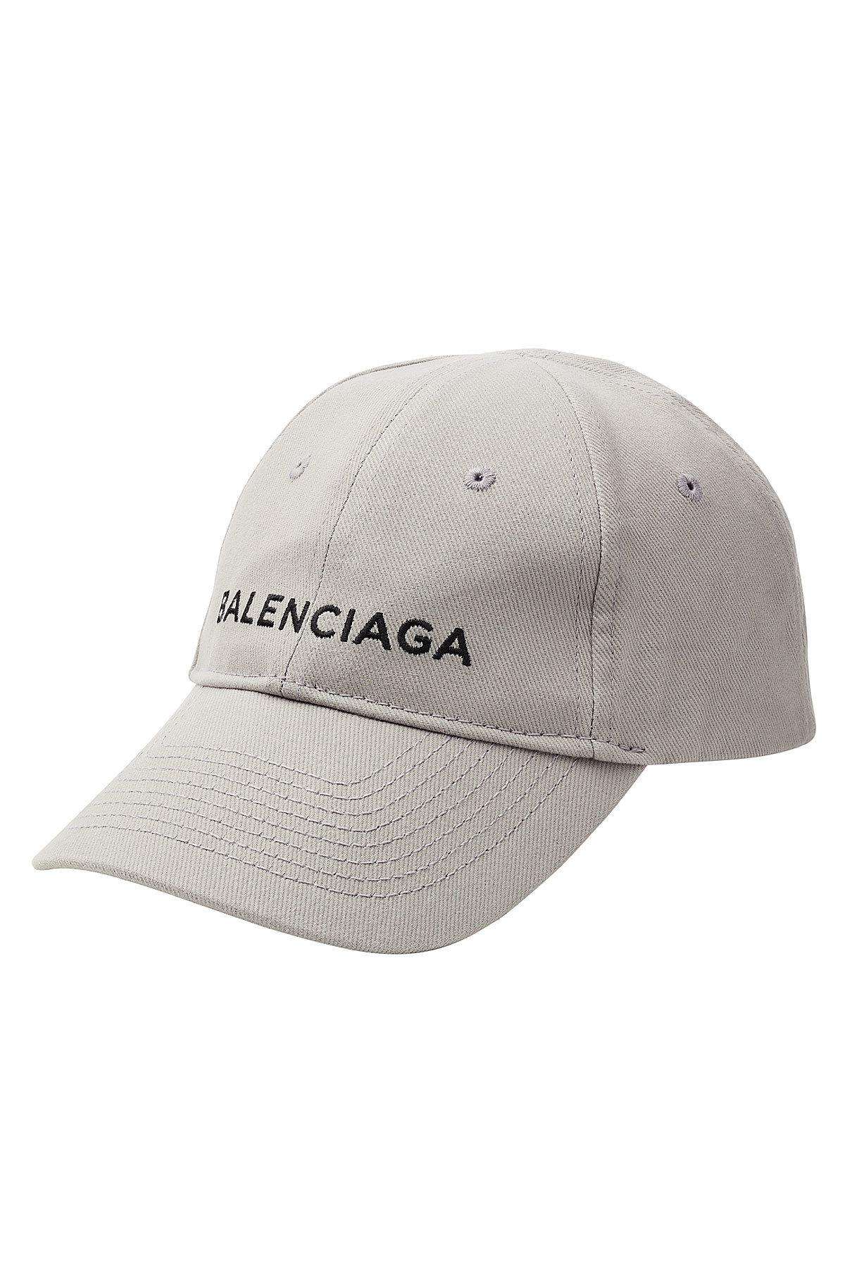 7bd8aaa0c83 Lyst - Balenciaga New Baseball Cap in Gray for Men