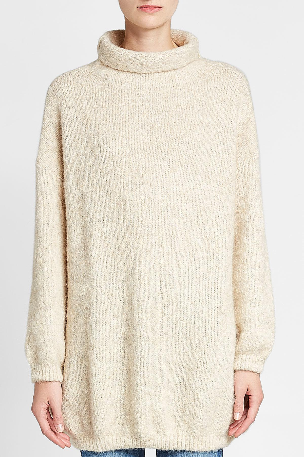 6be970907 Lyst - American Vintage Turtleneck Pullover With Baby Alpaca And Cotton