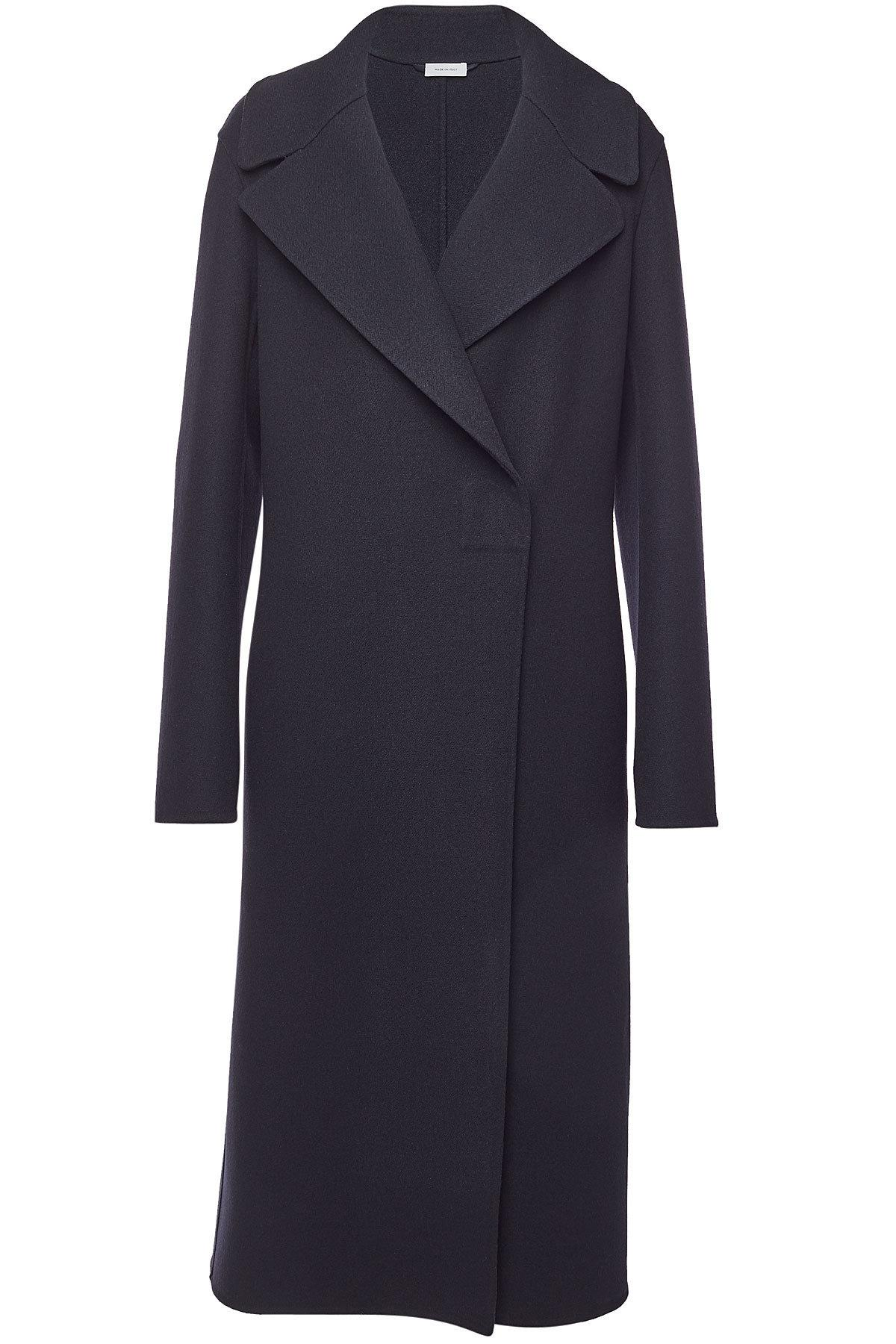 Blue Fleece Sander Lyst Coat In Franco Jil Wool ROqnz0w