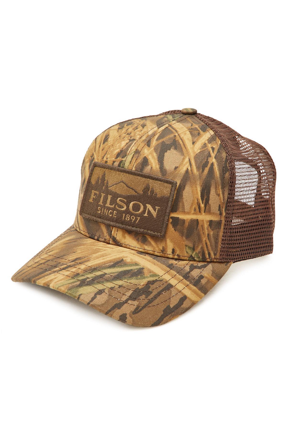 1d738c7c002 Filson - Multicolor Logger Cotton Baseball Cap With Mesh for Men - Lyst. View  fullscreen