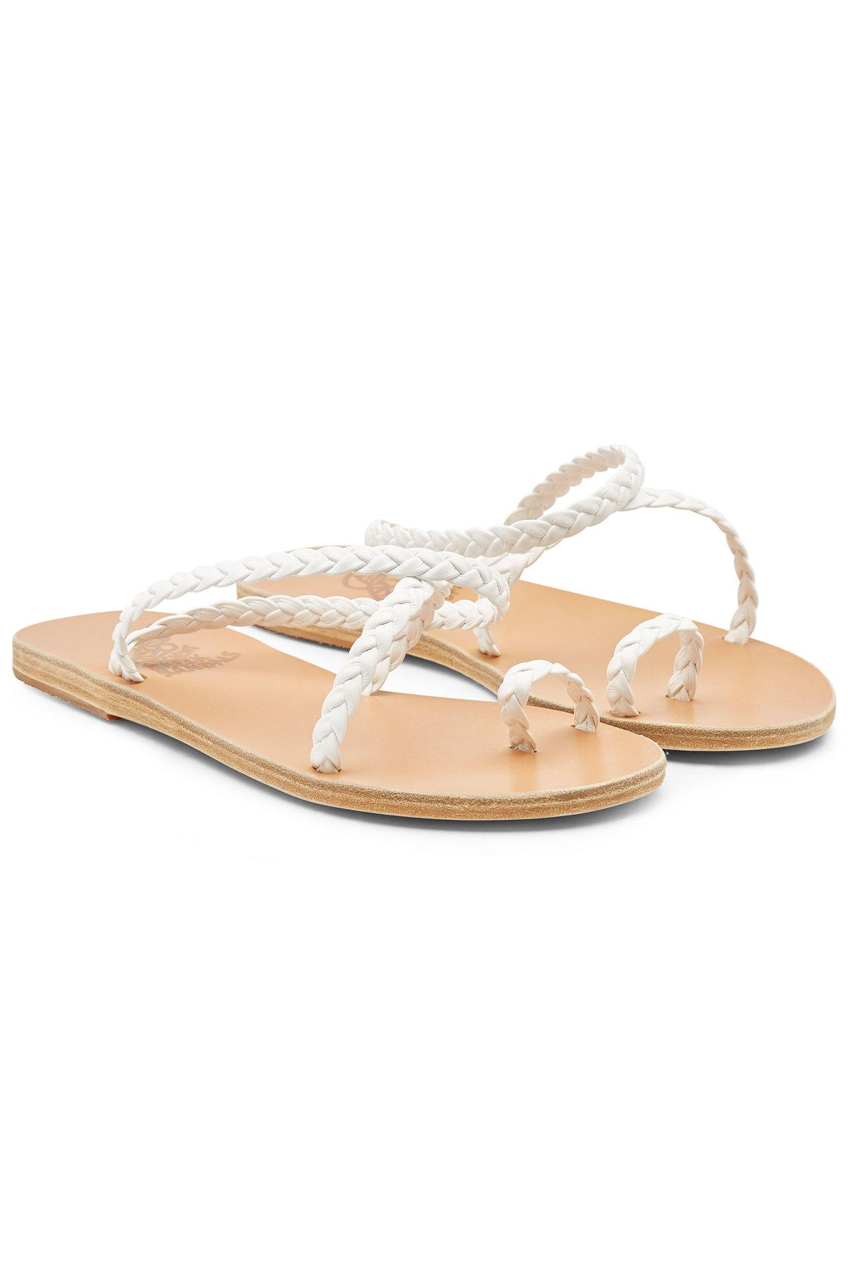 9bdbb84cf Lyst - Ancient Greek Sandals Eleftheria Leather Sandals in White