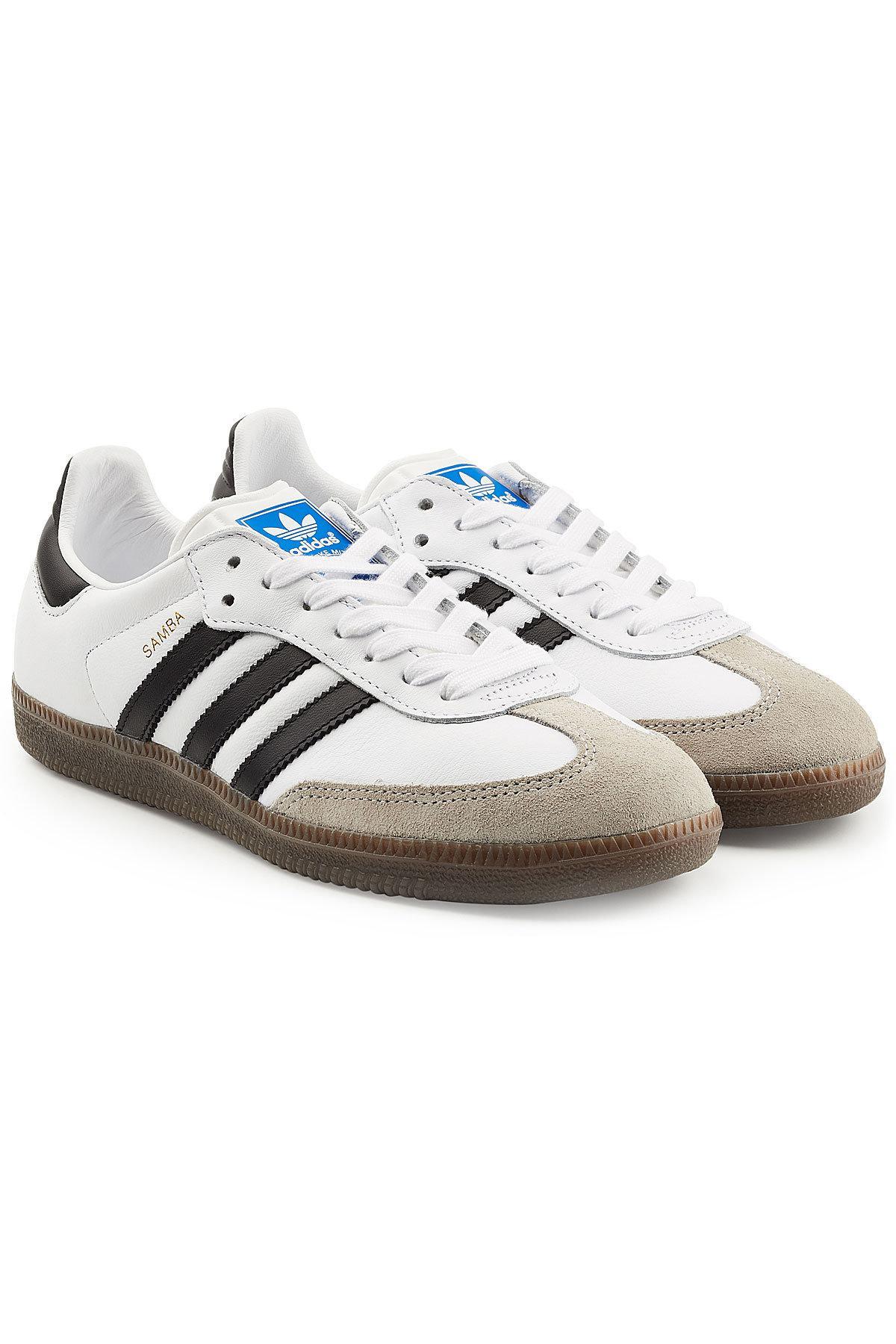 Lyst adidas Originals Samba Suede y cuero zapatillas para hombres