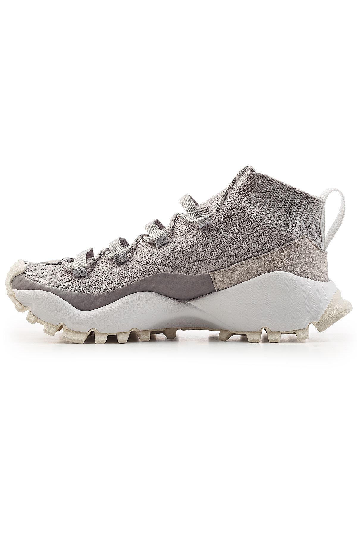 262d145c45f3 Lyst - adidas Originals Seeulater Primeknit Winter Sneakers in Gray ...