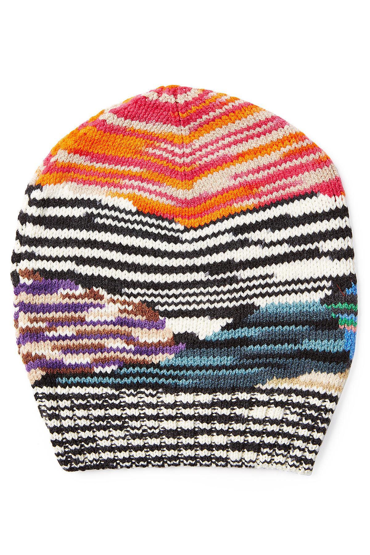 4c4688195ee Missoni - Multicolor Wool Hat - Lyst. View fullscreen