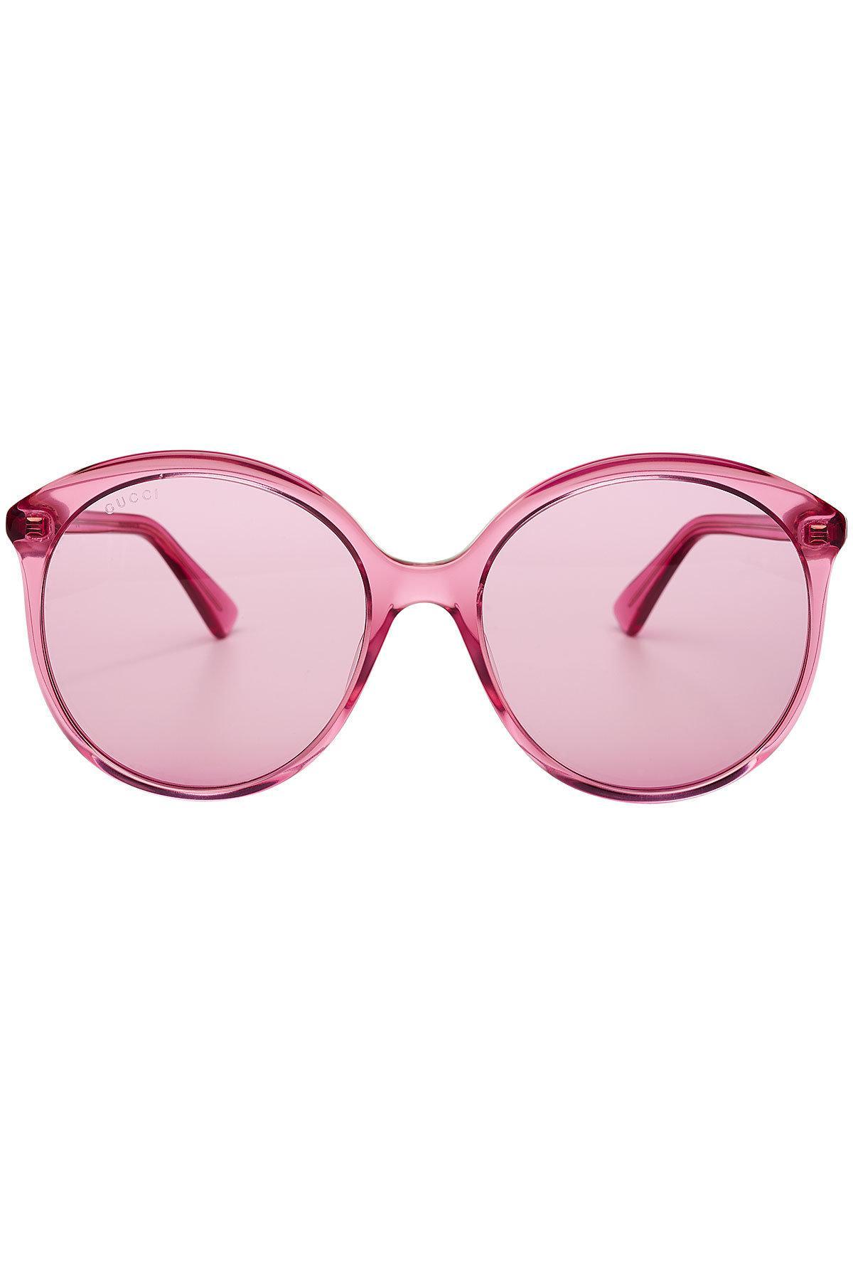 dbb2852dc9 Lyst - Gucci Sunglasses in Pink