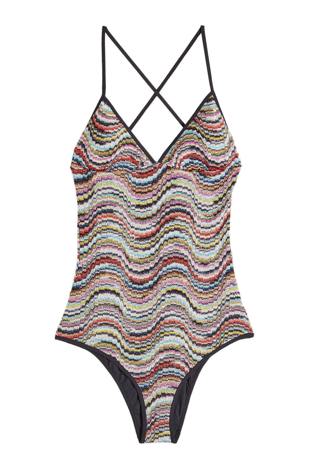 Knitted swimwear crochet