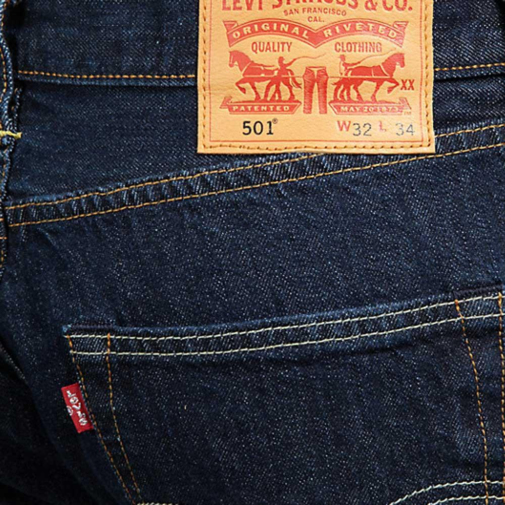 Leg Straight Wash Jeans 501 Blue Dark One In Levi's xpS0wY5