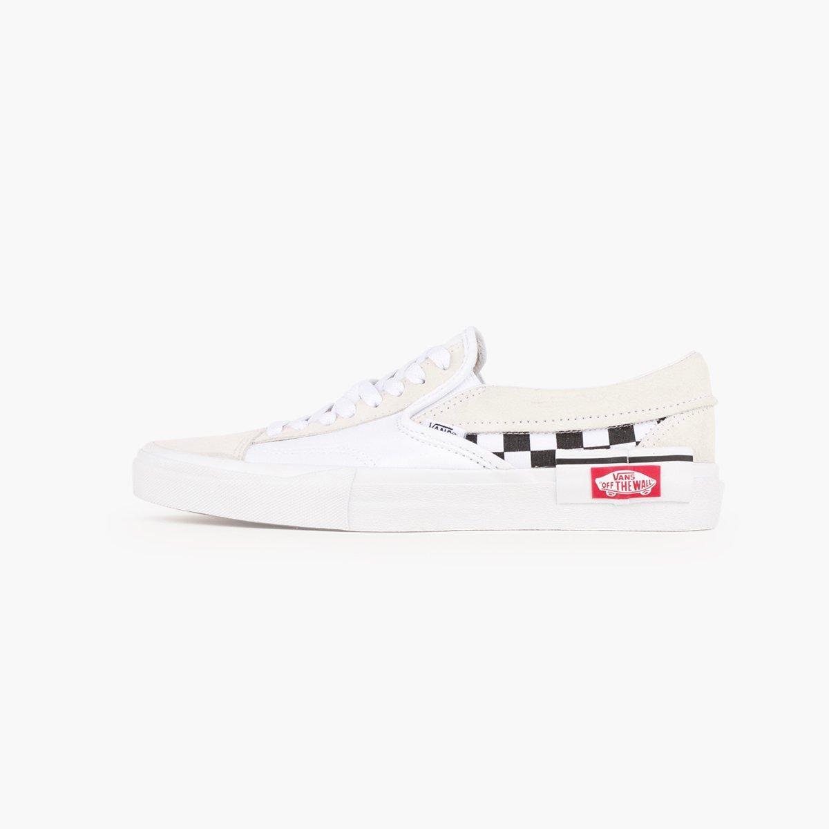 6e6d644cbe Lyst - Vans Ua Slip-on Cap (checkerboard) in White