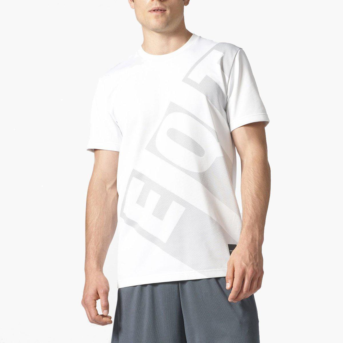 91e22bf405b3 Lyst - Adidas Originals Eqt Em Tee in White for Men