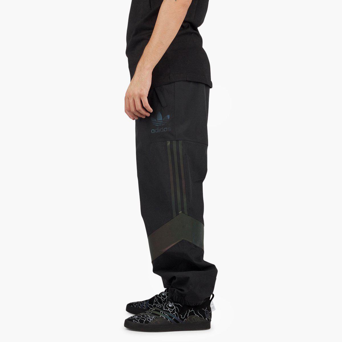 7a506171 Adidas Originals - Black Adidas Originals X Bape Slopetrotter Pant for Men  - Lyst. View fullscreen