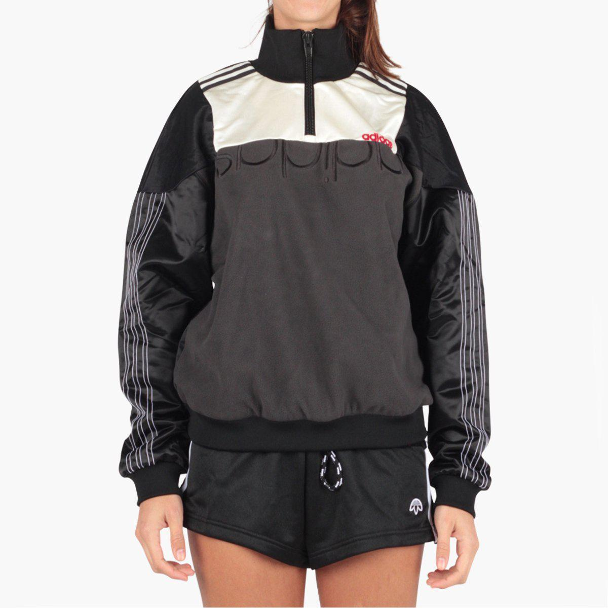 2ab5f80d304e adidas Originals. Women s Black Adidas Originals By Alexander Wang Disjoin  Pullover