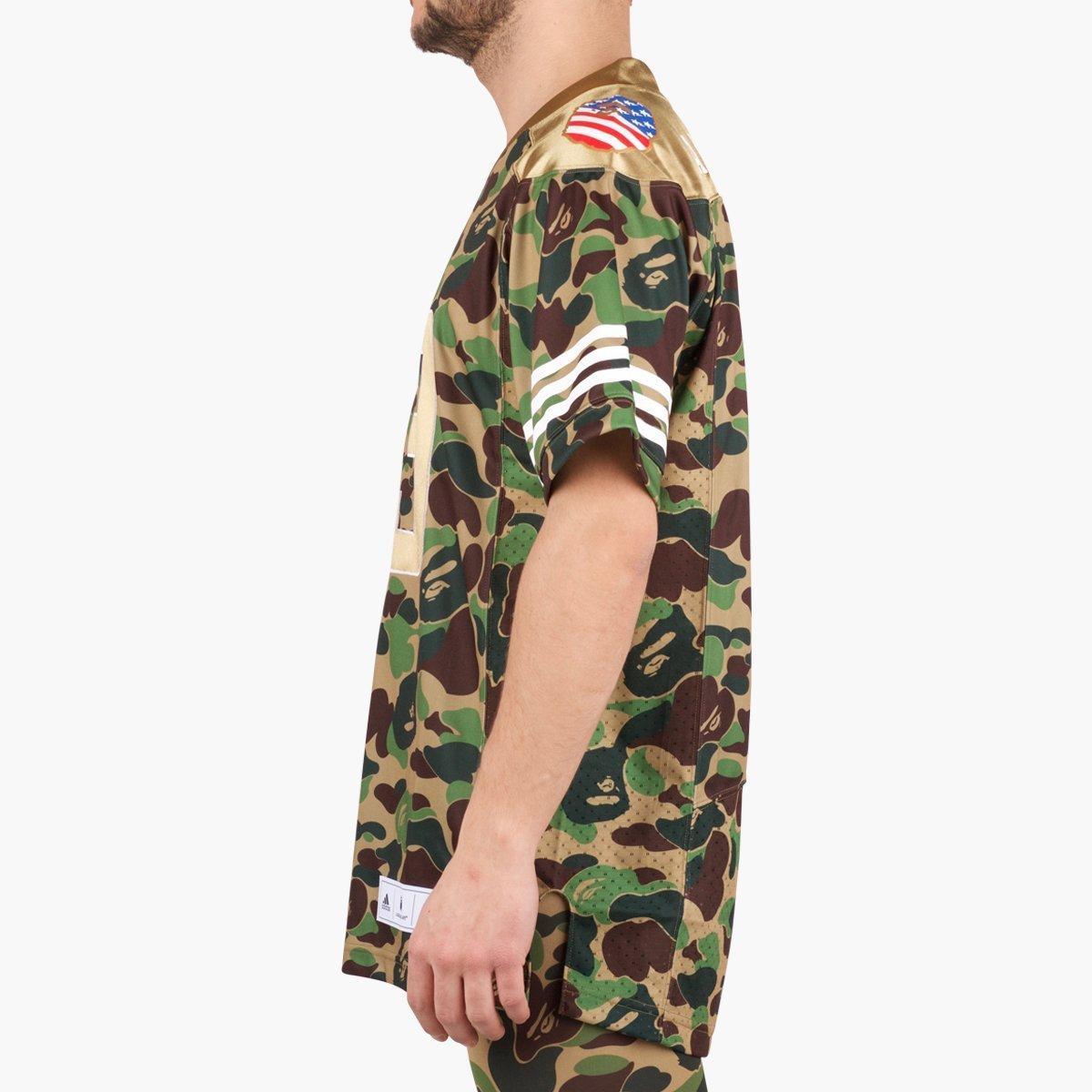 31182f98 adidas Originals Adidas Originals Fb Jersey Bape Sb in Green for Men ...
