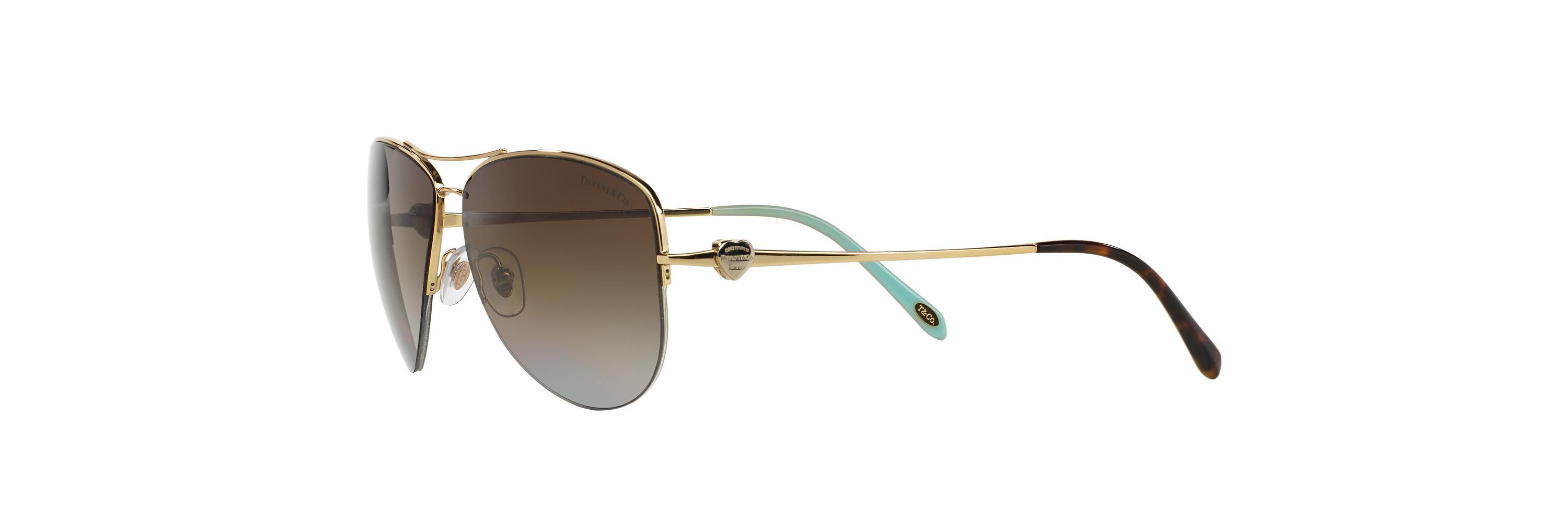 67a6d60bcc97 Lyst - Tiffany & Co. Tf3021 in Brown