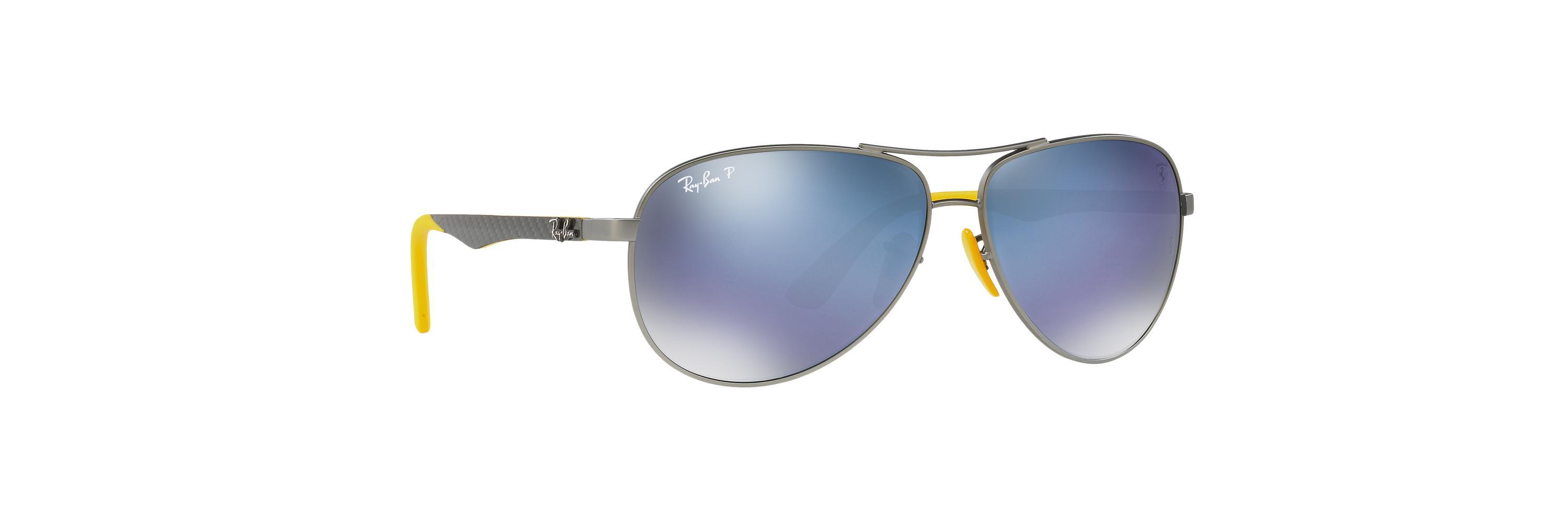 a0f9a0ed1fbf0 Ray-Ban Rb3460m Rb3460m Scuderia Ferrari Collection in Yellow for ...