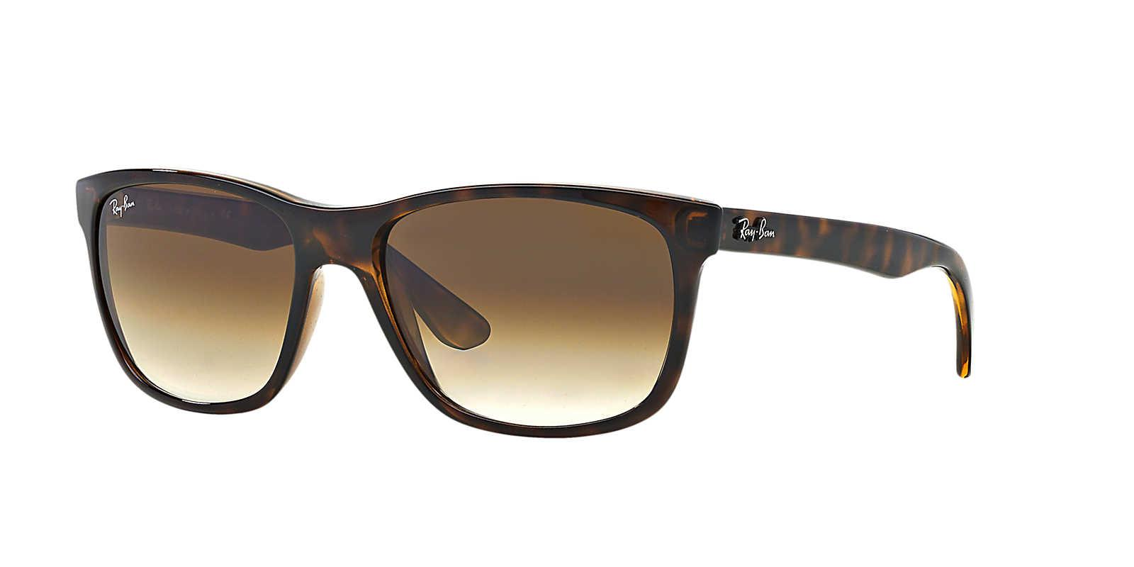 7408e61f630 ... where can i buy ray ban unisex sunglass rb4181 57 in brown for men lyst  8ba97